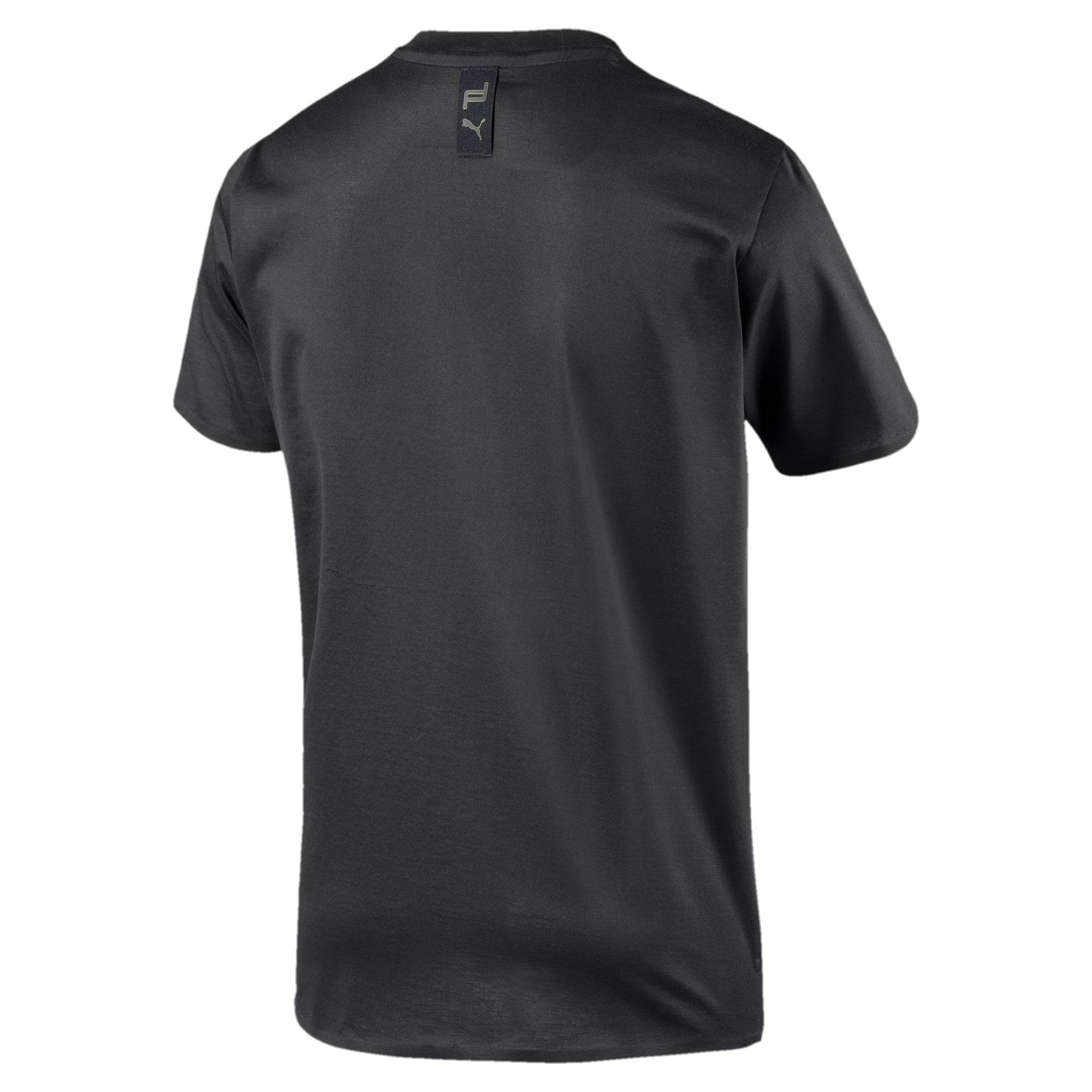 Thumbnail 2 of M ポルシェデザイン PD グラフィック Tシャツ, Jet Black, medium-JPN