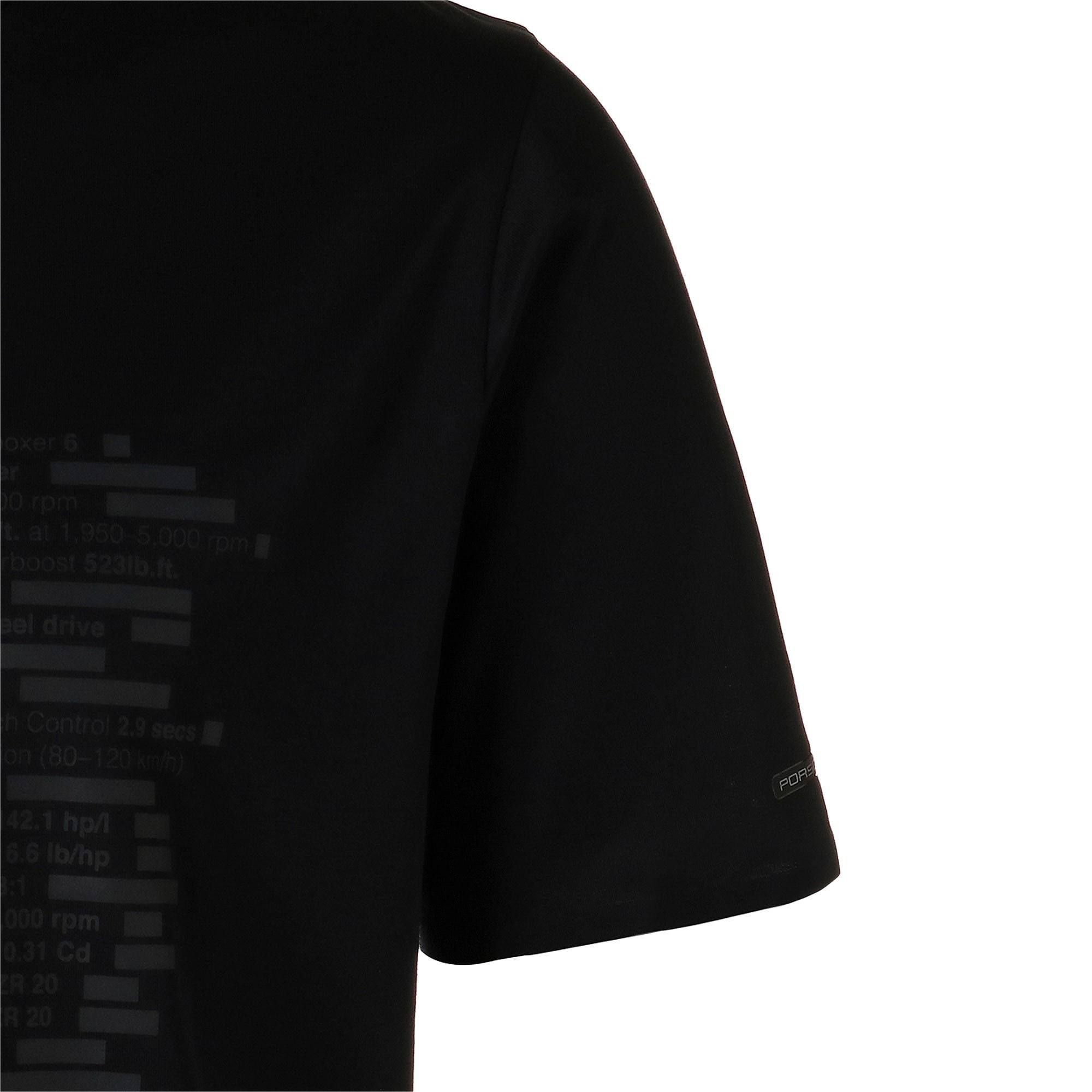 Thumbnail 5 of M ポルシェデザイン PD グラフィック Tシャツ, Jet Black, medium-JPN