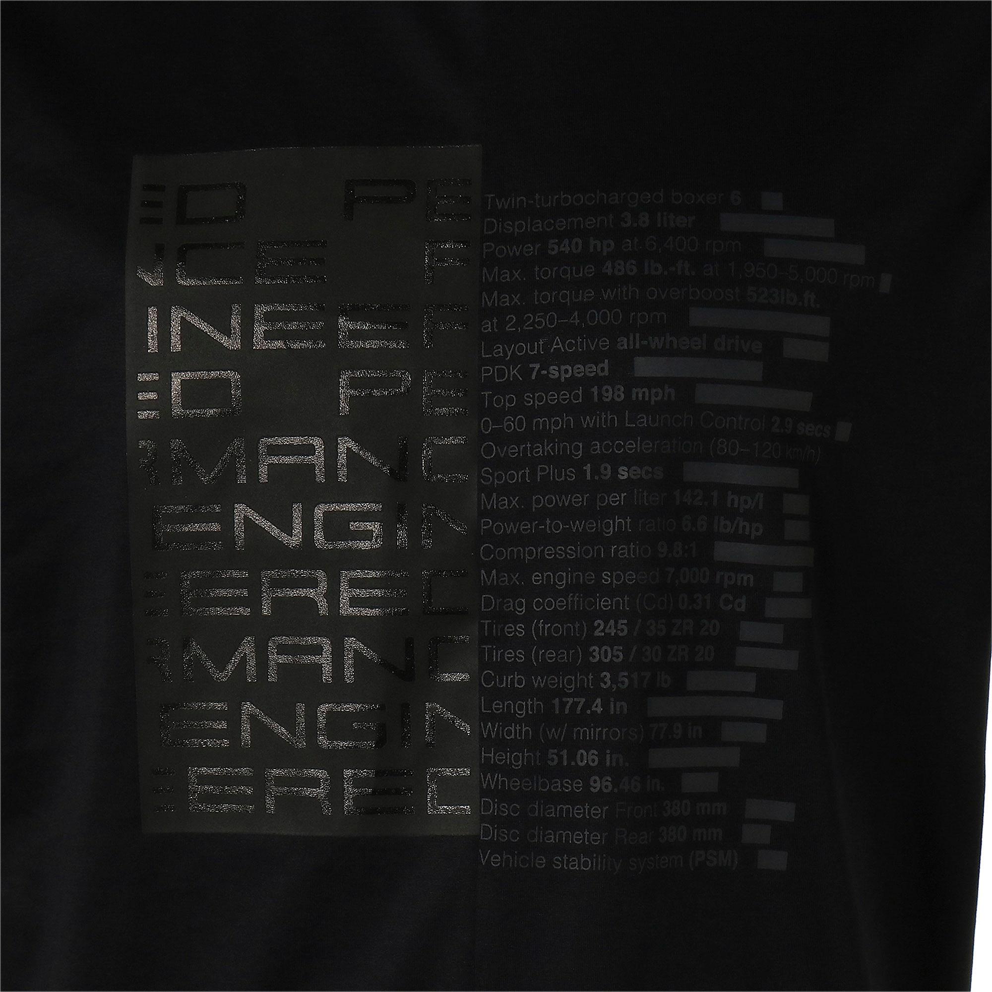 Thumbnail 7 of M ポルシェデザイン PD グラフィック Tシャツ, Jet Black, medium-JPN