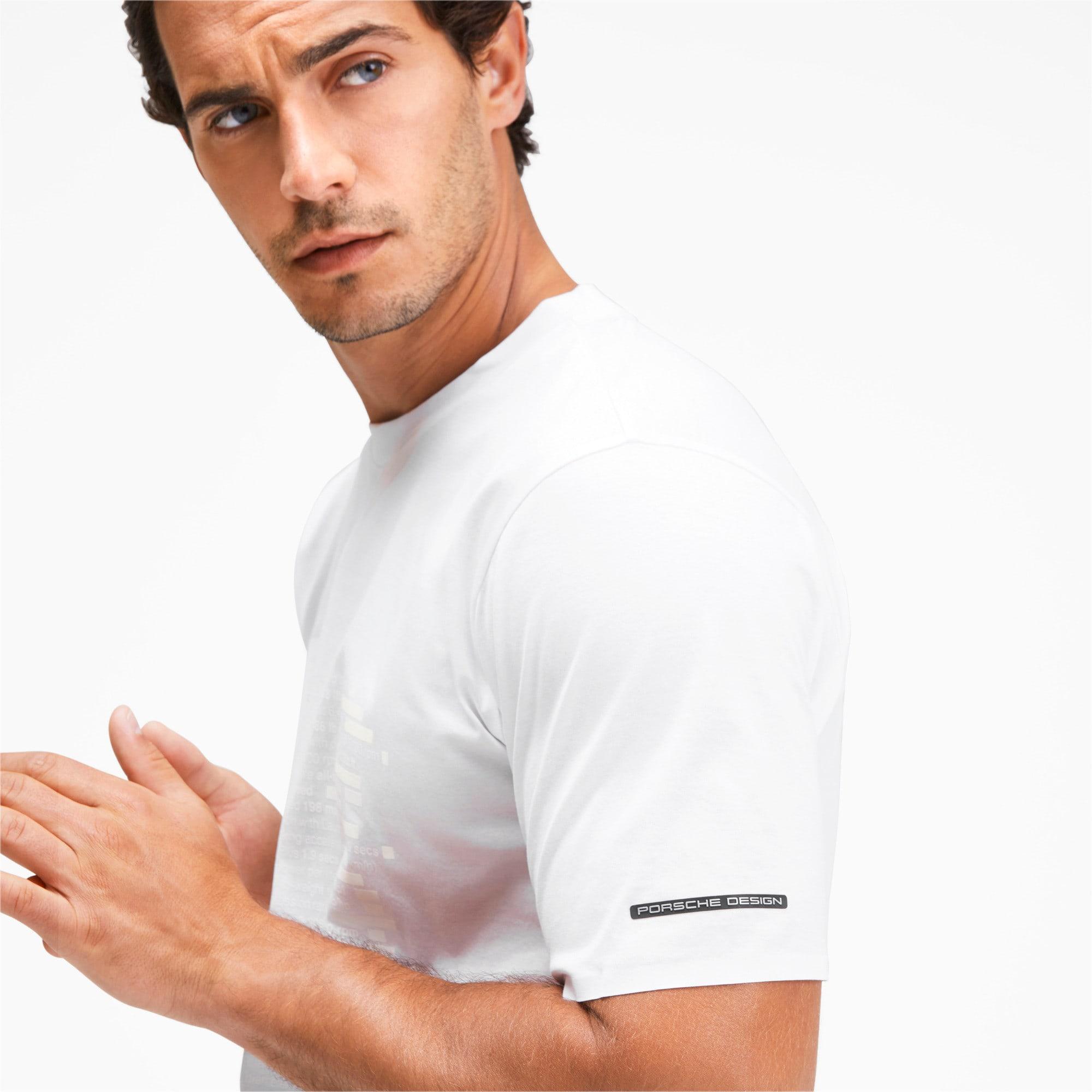 Thumbnail 7 of M ポルシェデザイン PD グラフィック Tシャツ, Puma White, medium-JPN
