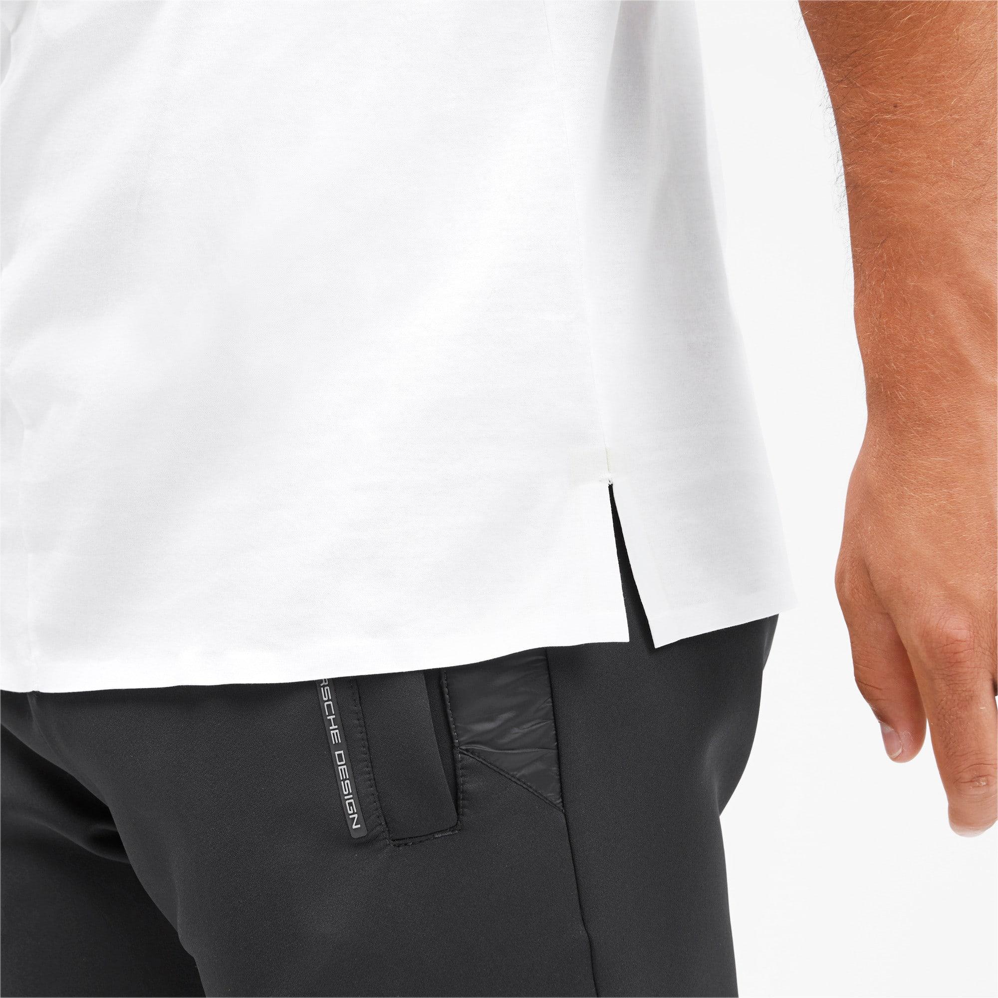Thumbnail 8 of M ポルシェデザイン PD グラフィック Tシャツ, Puma White, medium-JPN