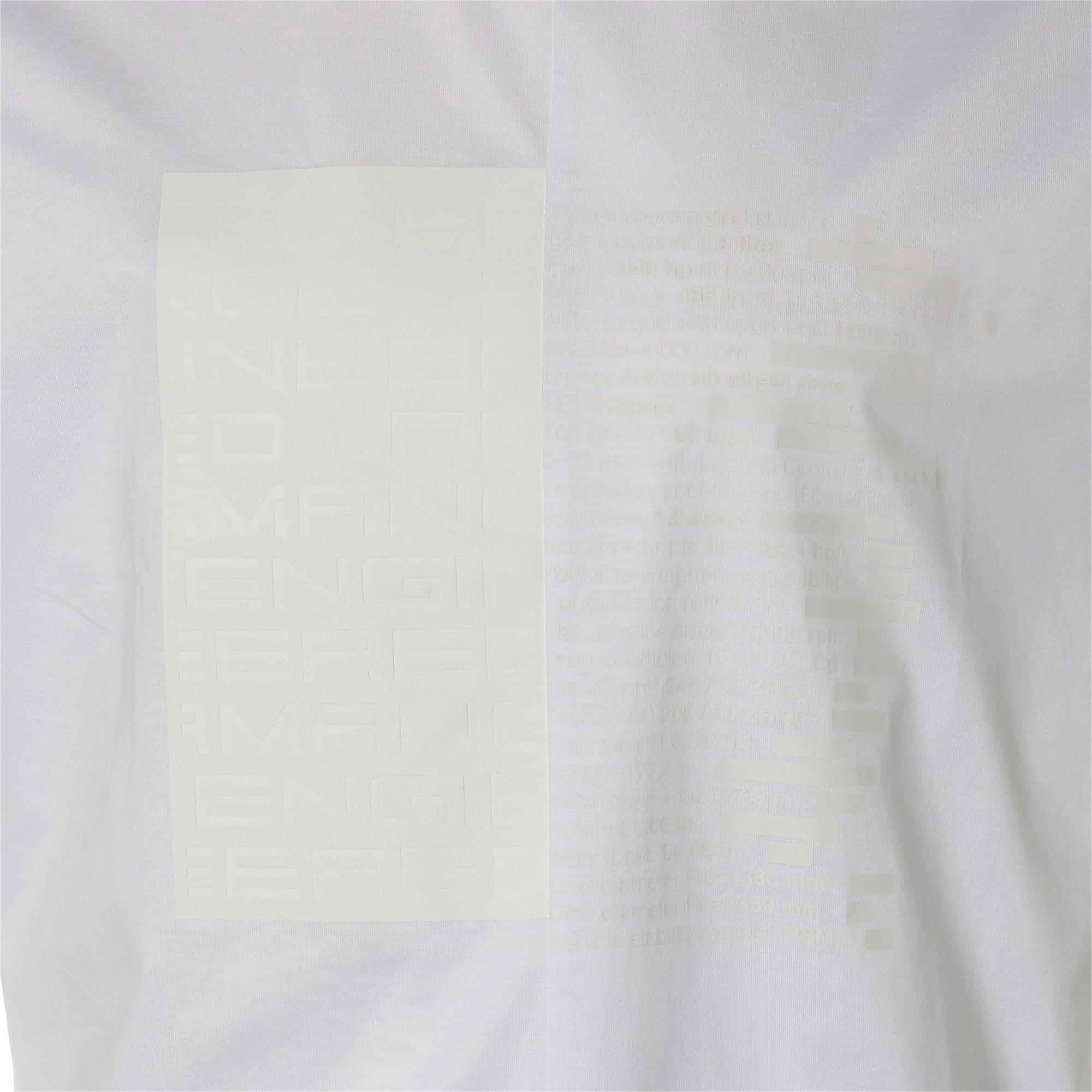 Thumbnail 10 of M ポルシェデザイン PD グラフィック Tシャツ, Puma White, medium-JPN