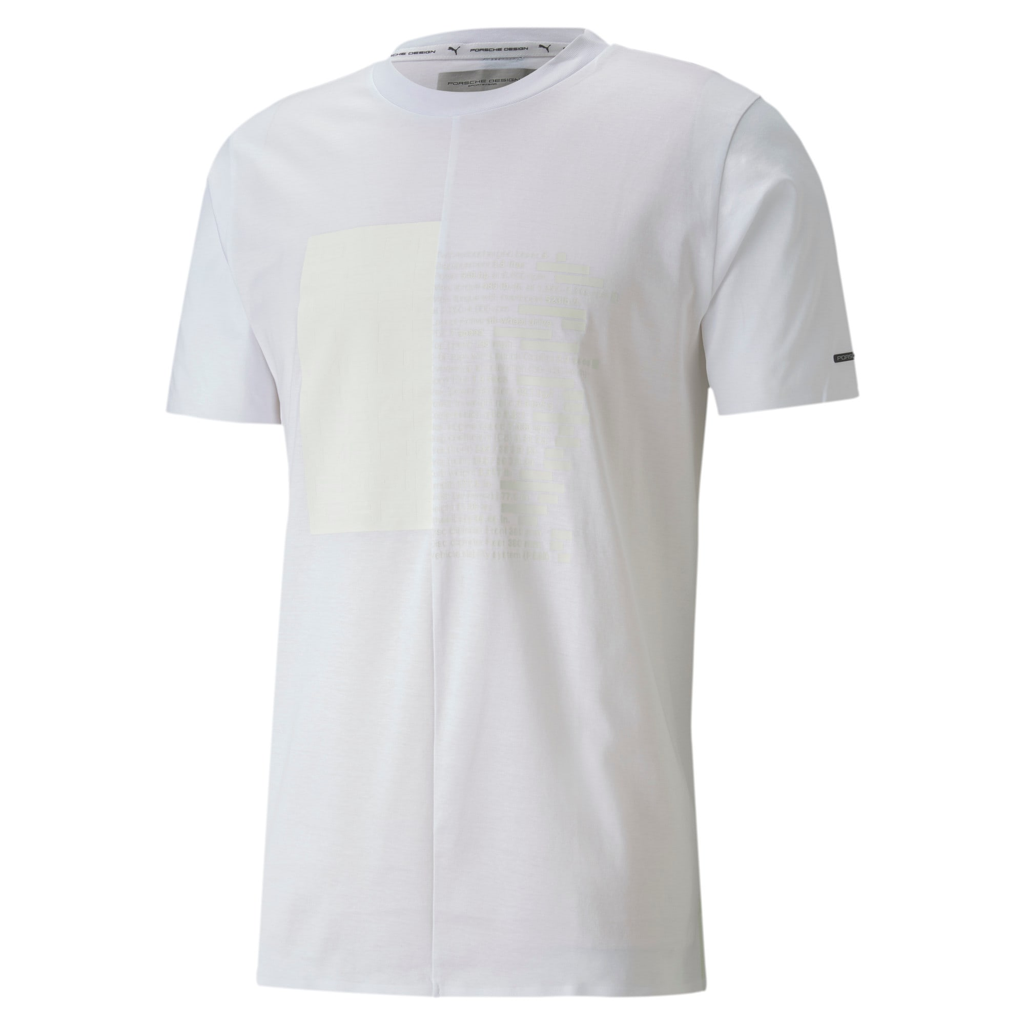 Thumbnail 4 of M ポルシェデザイン PD グラフィック Tシャツ, Puma White, medium-JPN