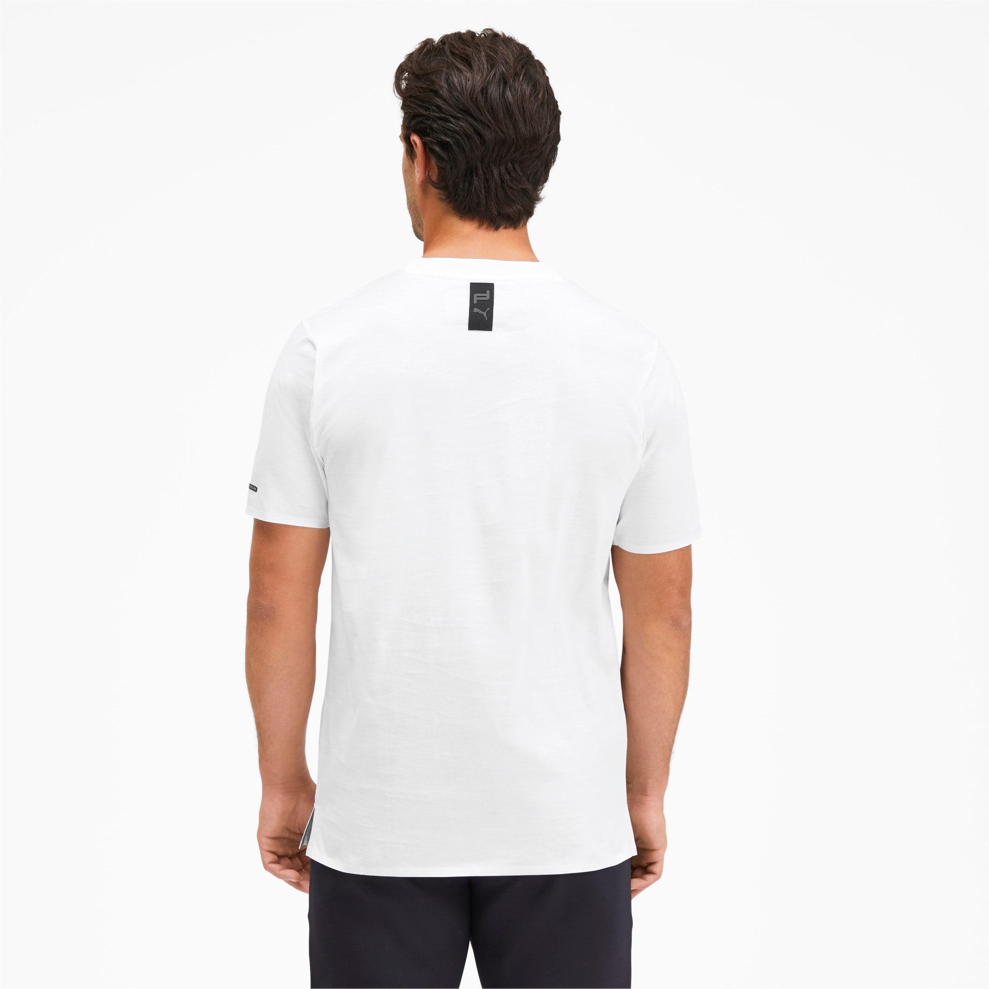 Thumbnail 2 of M ポルシェデザイン PD グラフィック Tシャツ, Puma White, medium-JPN