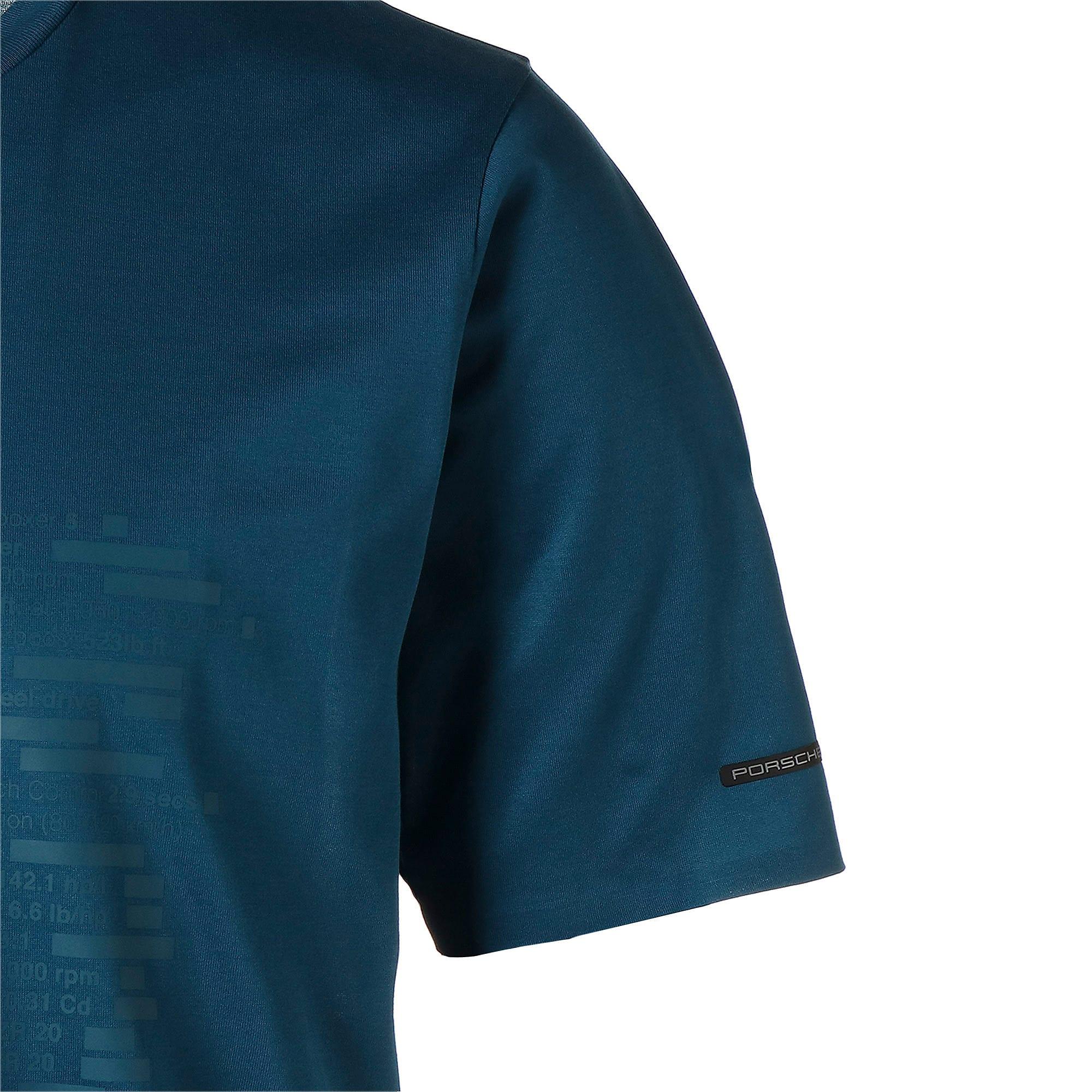 Thumbnail 8 of M ポルシェデザイン PD グラフィック Tシャツ, Moroccan Blue, medium-JPN