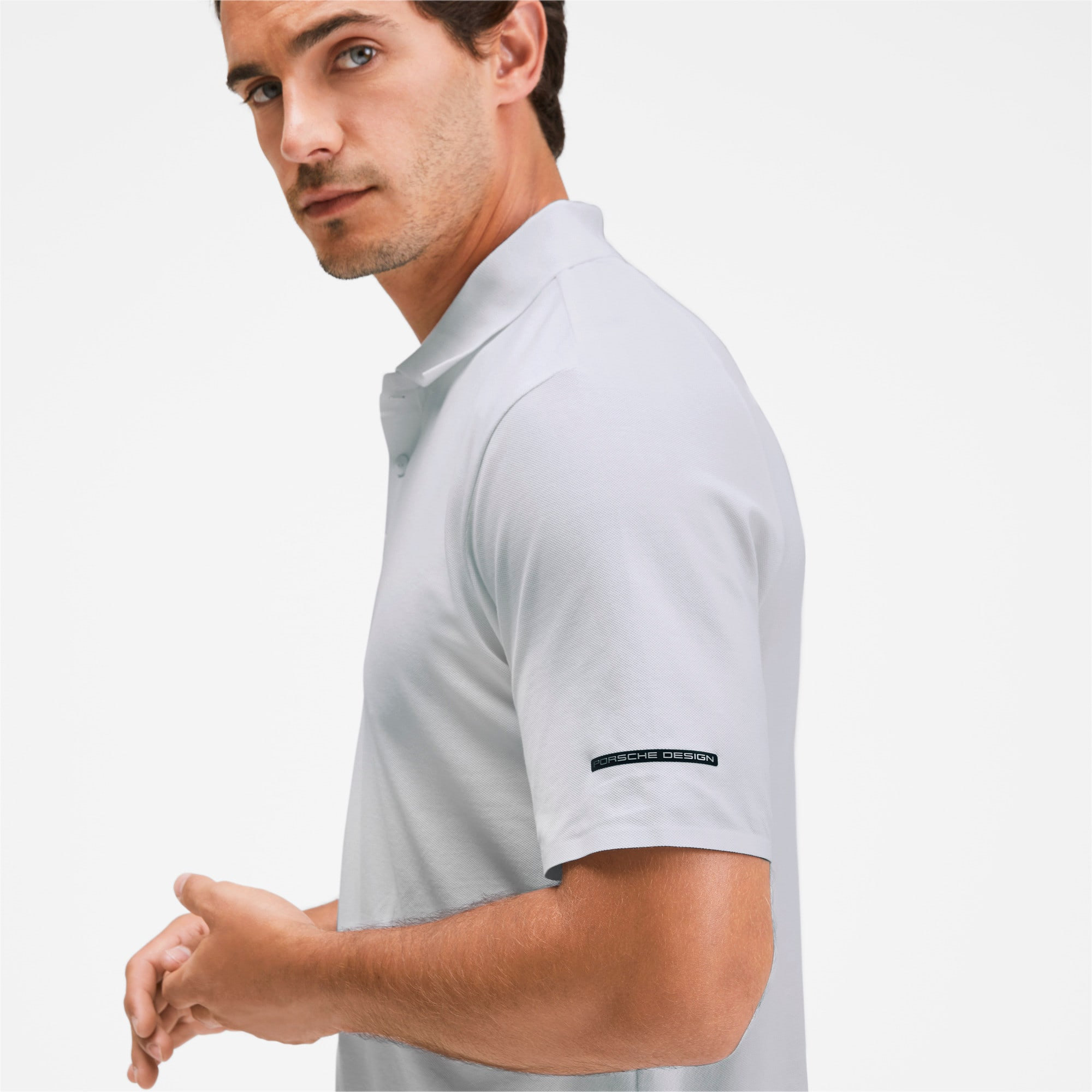 Thumbnail 6 of Porsche Design Herren Polo, Puma White, medium