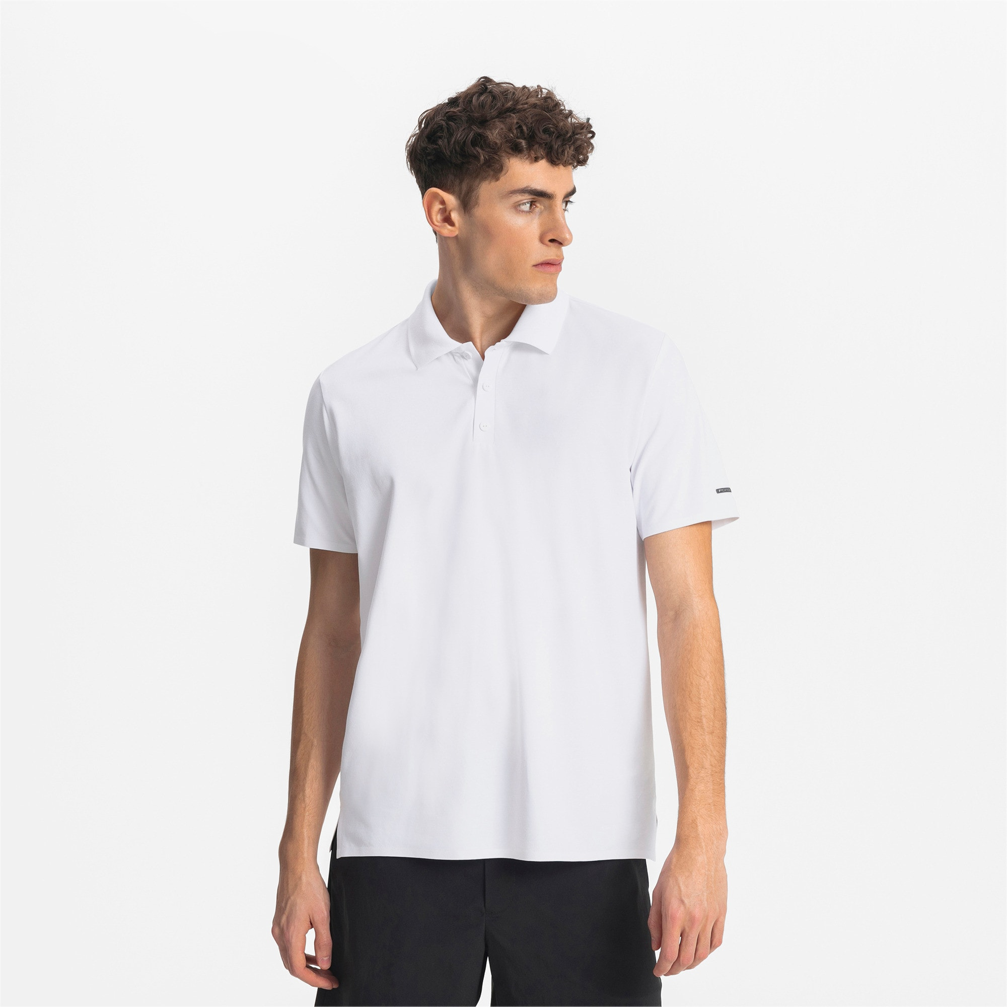 Porsche Design Herren Polo, Puma White, large