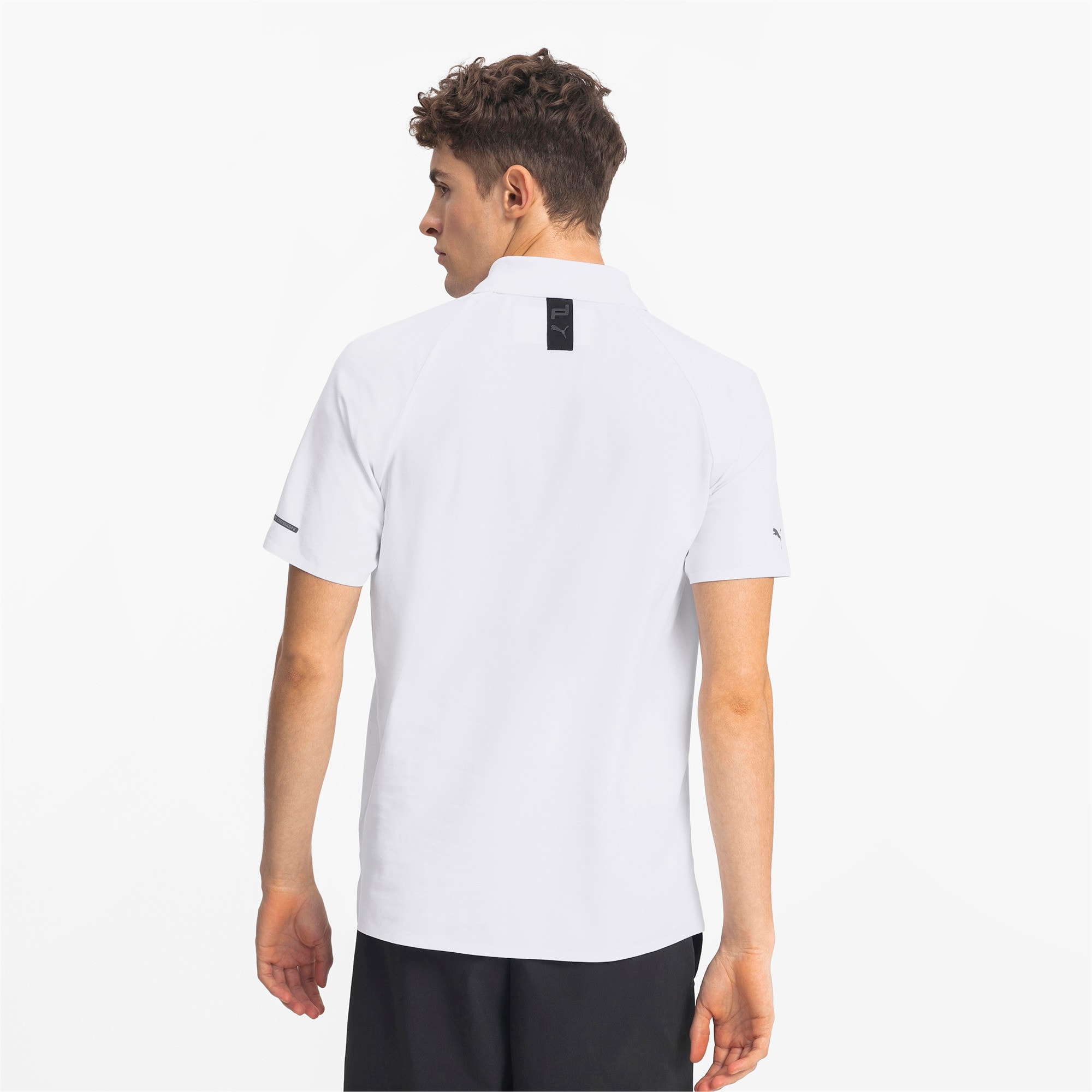 Thumbnail 2 of Porsche Design Herren Polo, Puma White, medium