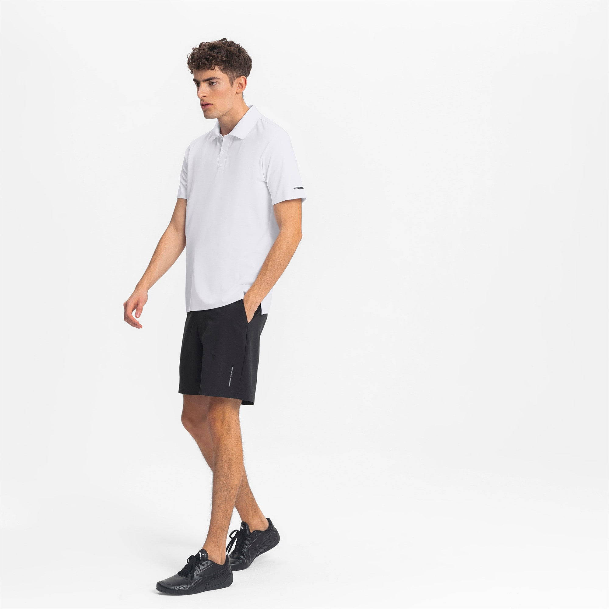 Thumbnail 3 of Porsche Design Herren Polo, Puma White, medium
