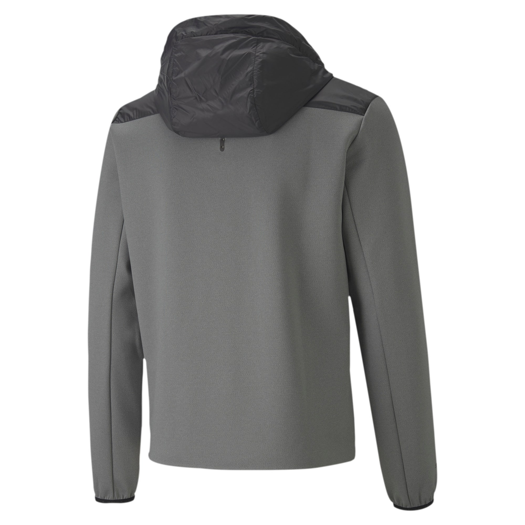Thumbnail 5 of Porsche Design Spacer Hooded Men's Midlayer, Medium Gray Heather, medium