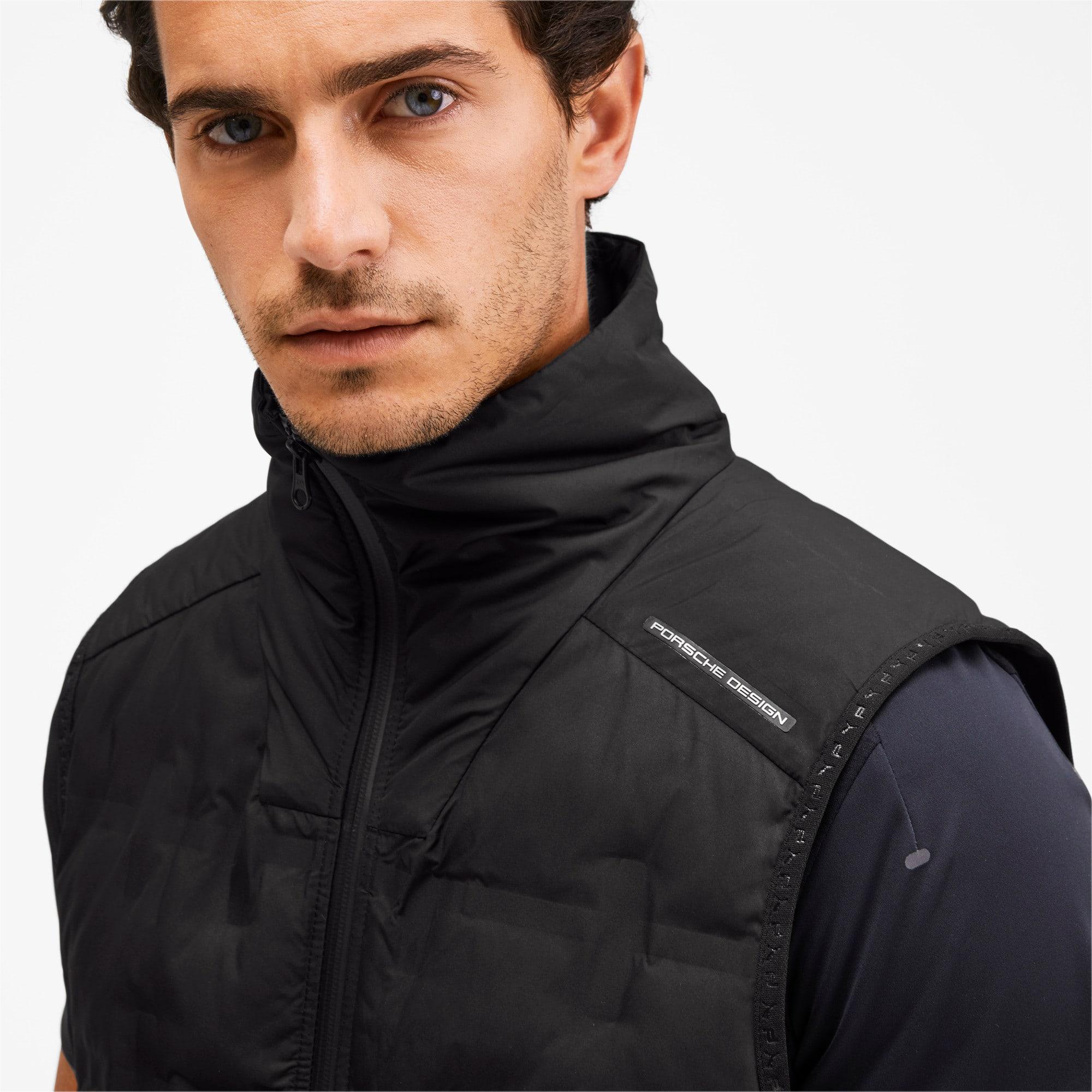 Thumbnail 6 of Porsche Design Men's Padded Vest, Jet Black, medium