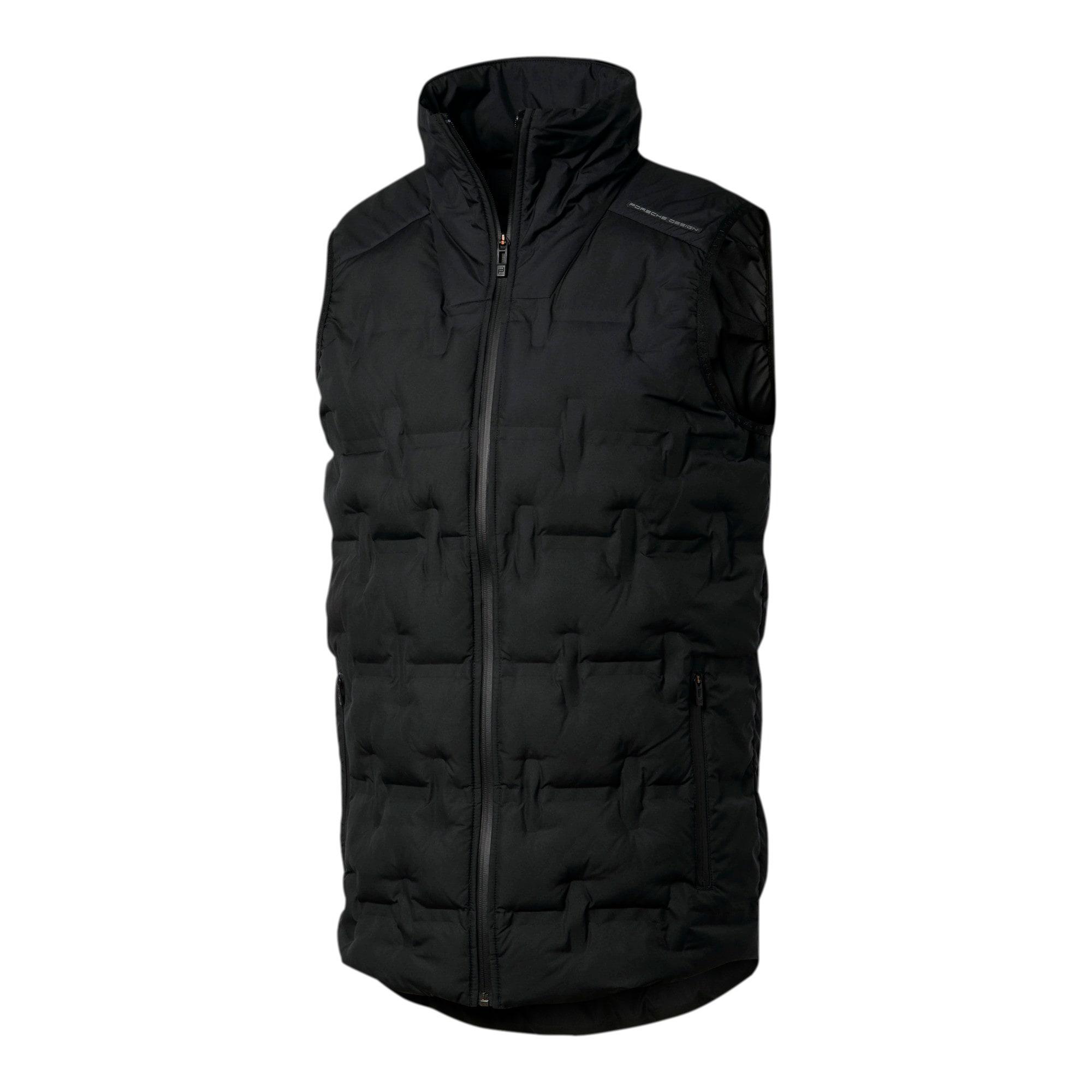 Thumbnail 4 of Porsche Design Men's Padded Vest, Jet Black, medium
