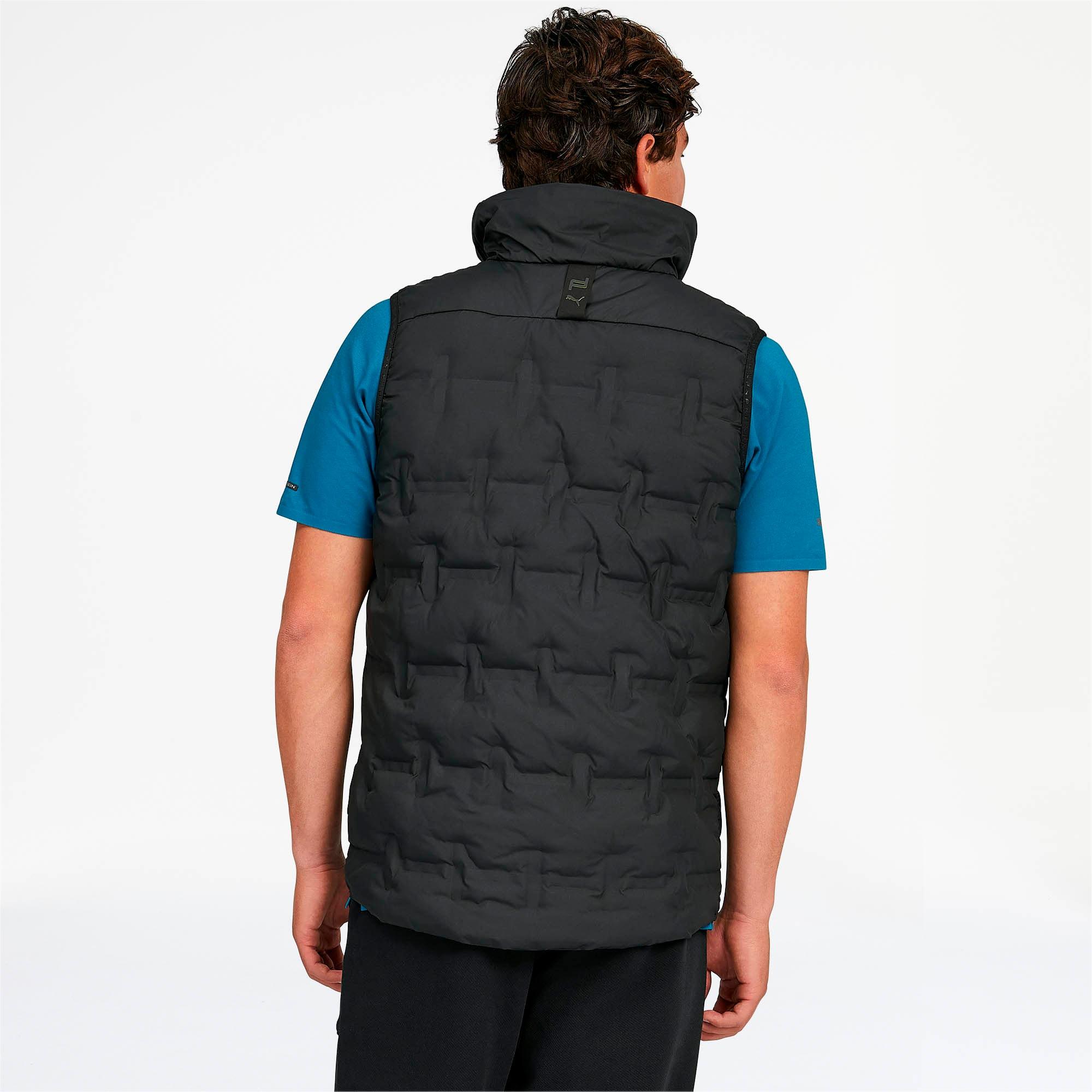 Thumbnail 2 of Porsche Design Men's Padded Vest, Jet Black, medium
