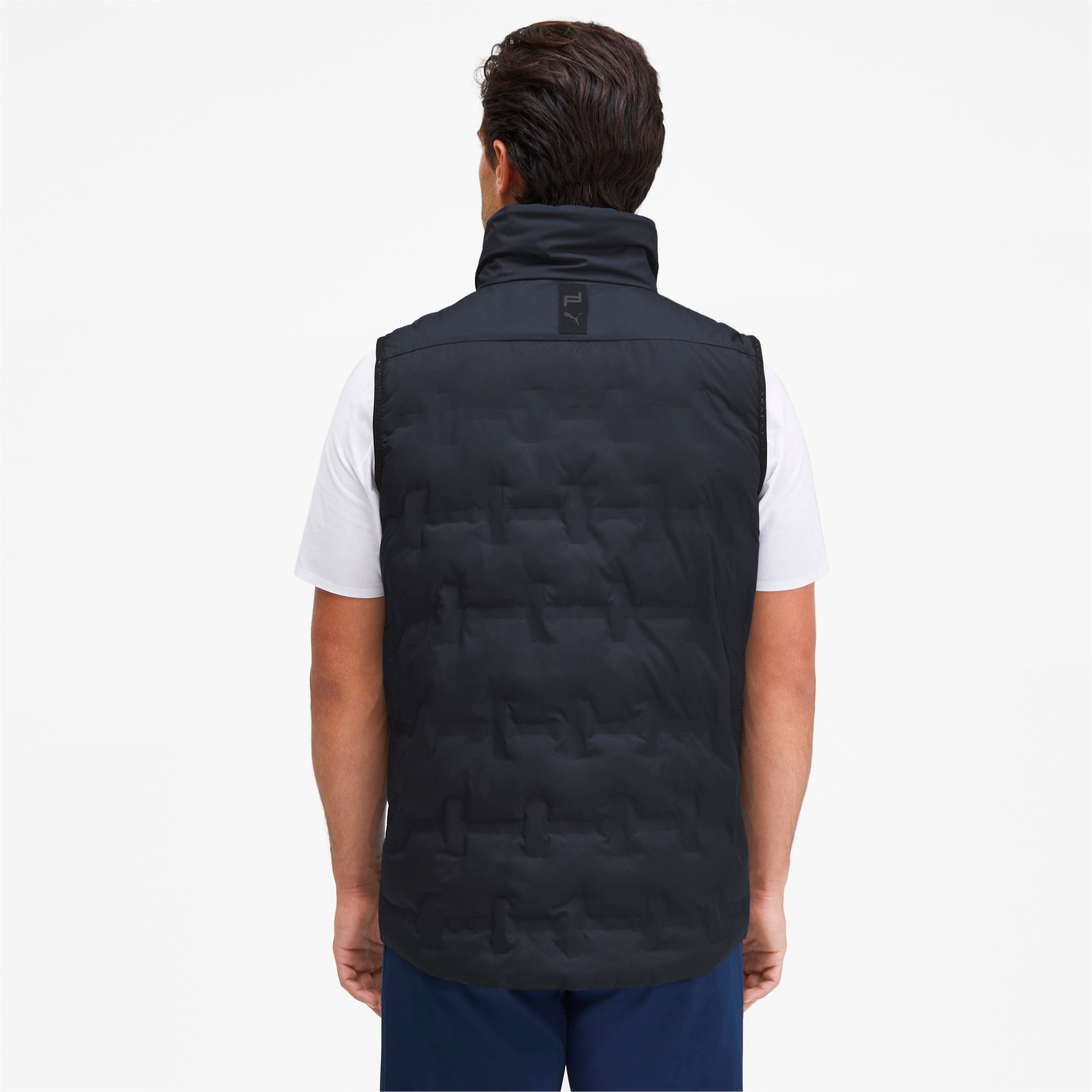 Thumbnail 2 of Porsche Design Men's Padded Vest, Navy Blazer, medium