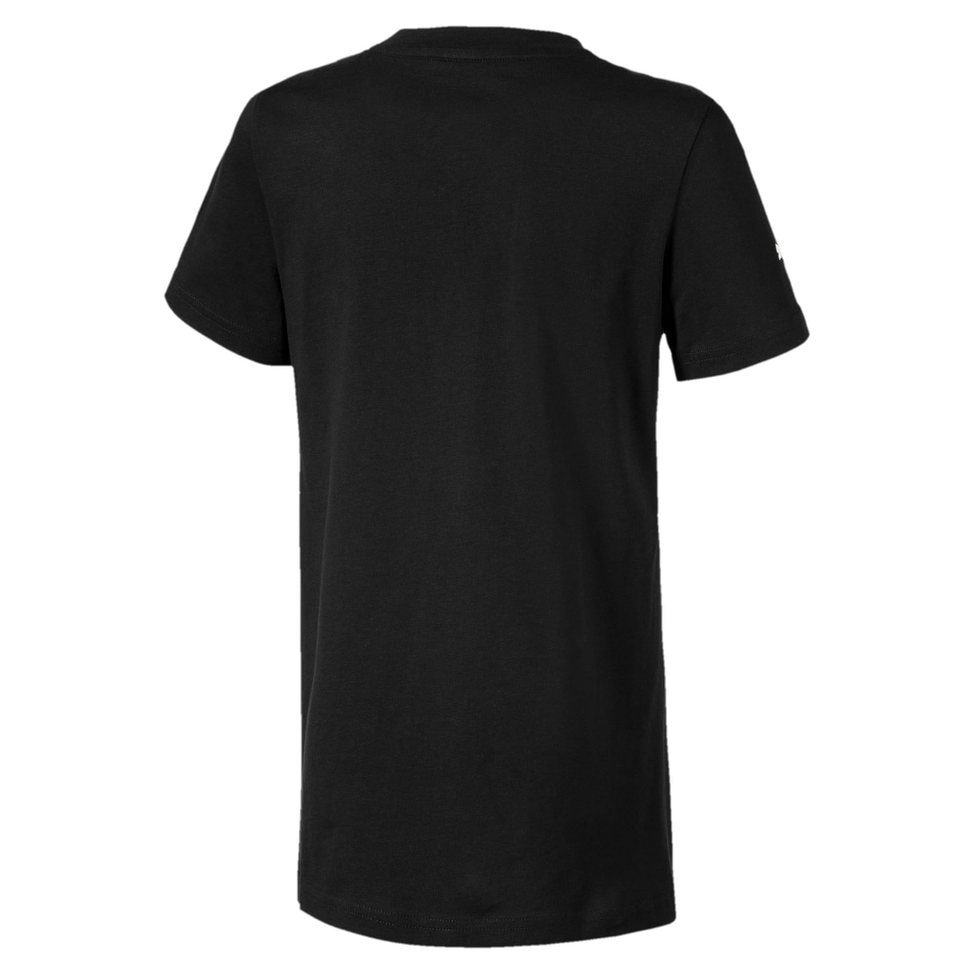 Thumbnail 2 van Ferrari T-shirt met groot schild voor jongens, Puma Black, medium