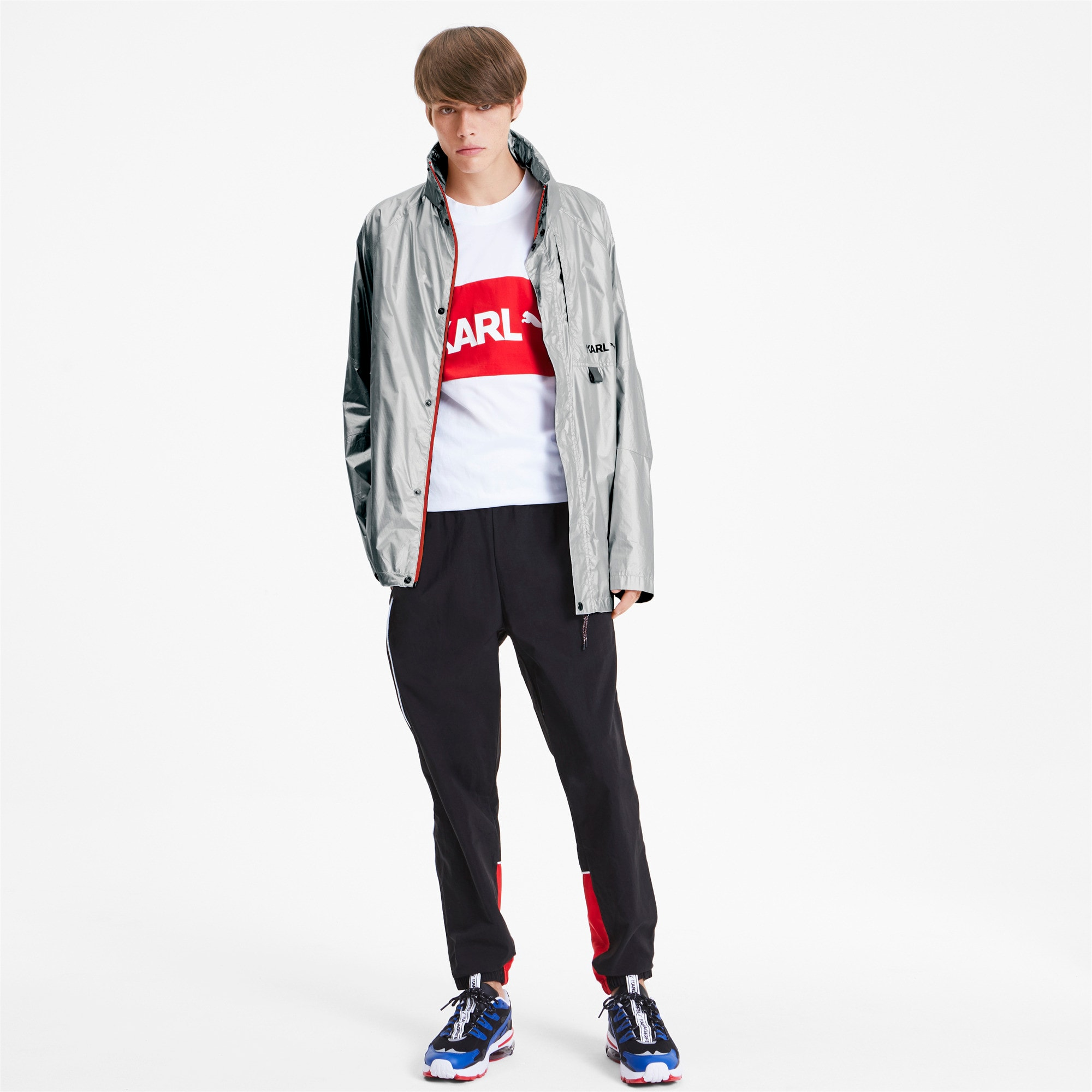 Thumbnail 3 of PUMA x KARL LAGERFELD Men's Jacket, Puma Black, medium