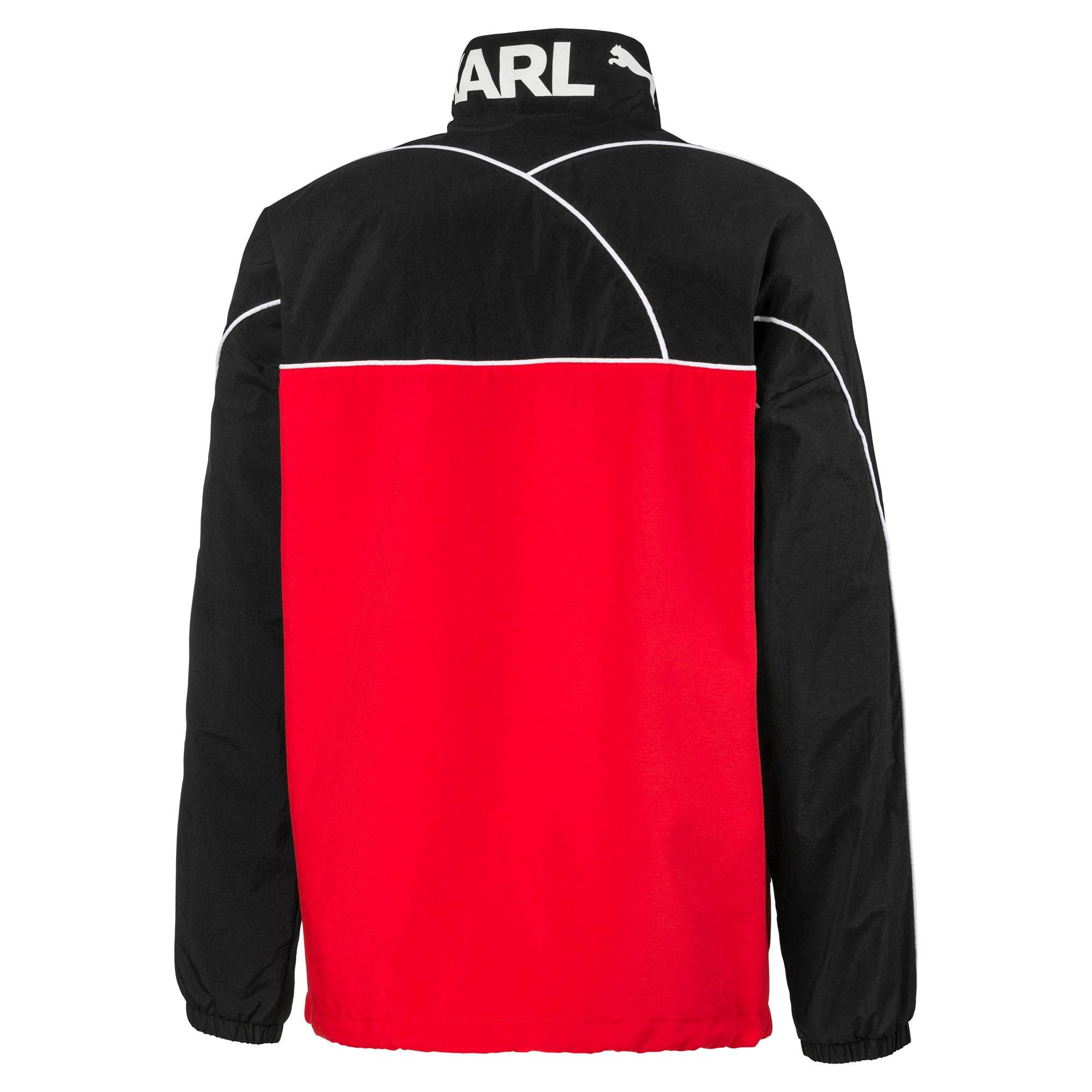 Thumbnail 5 of PUMA x KARL LAGERFELD Full Zip Men's Track Jacket, Puma Black, medium