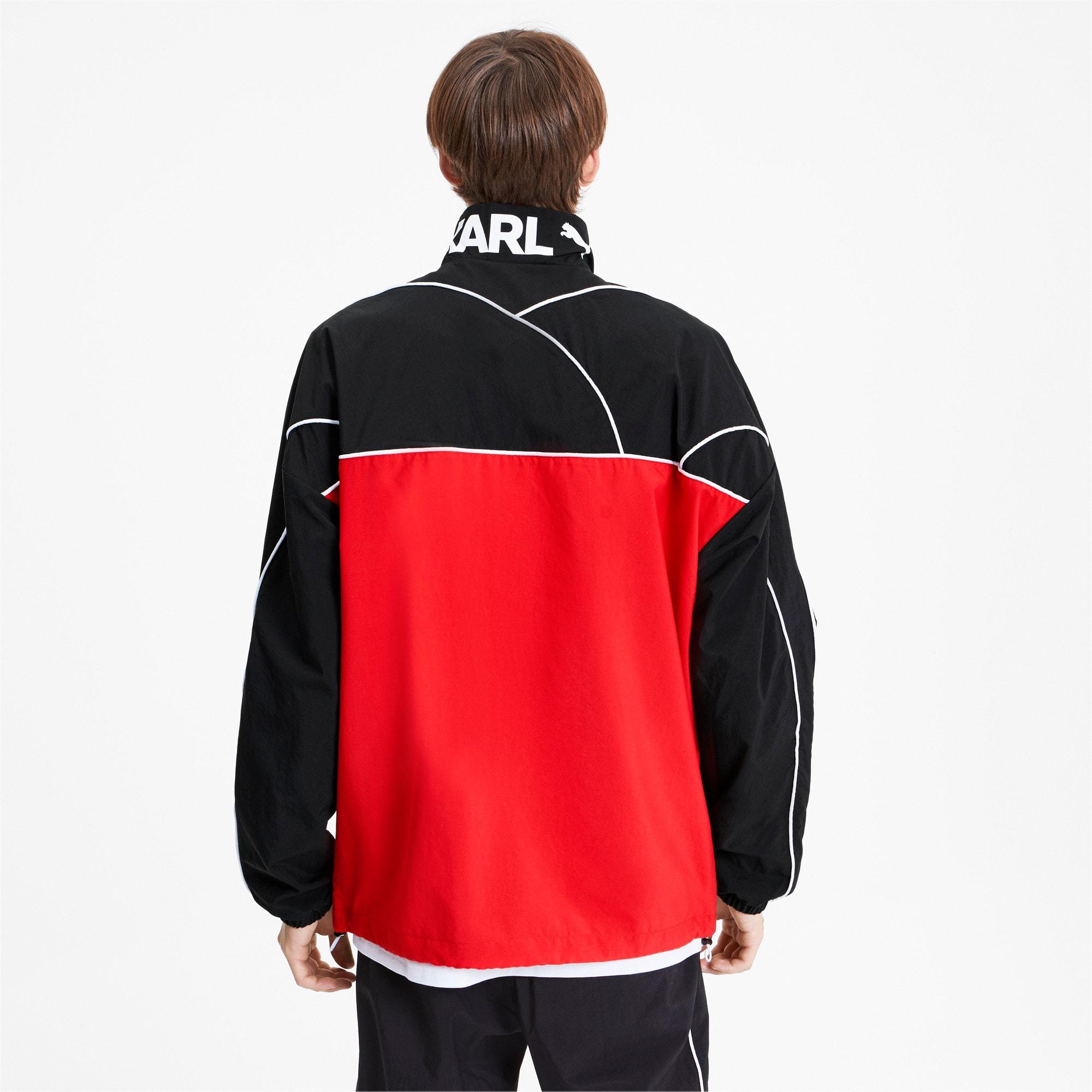Thumbnail 2 of PUMA x KARL LAGERFELD Full Zip Men's Track Jacket, Puma Black, medium