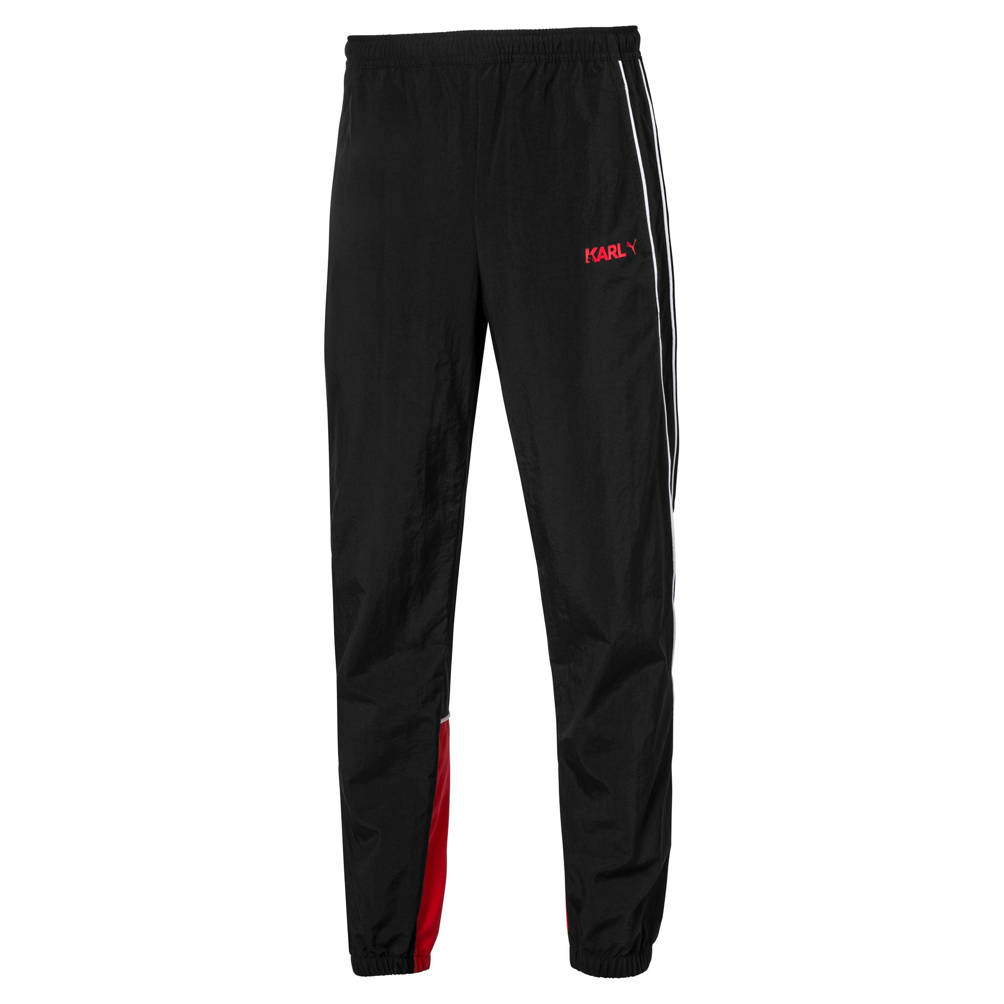 Thumbnail 4 of PUMA x KARL LAGERFELD Knitted Men's Track Pants, Puma Black, medium