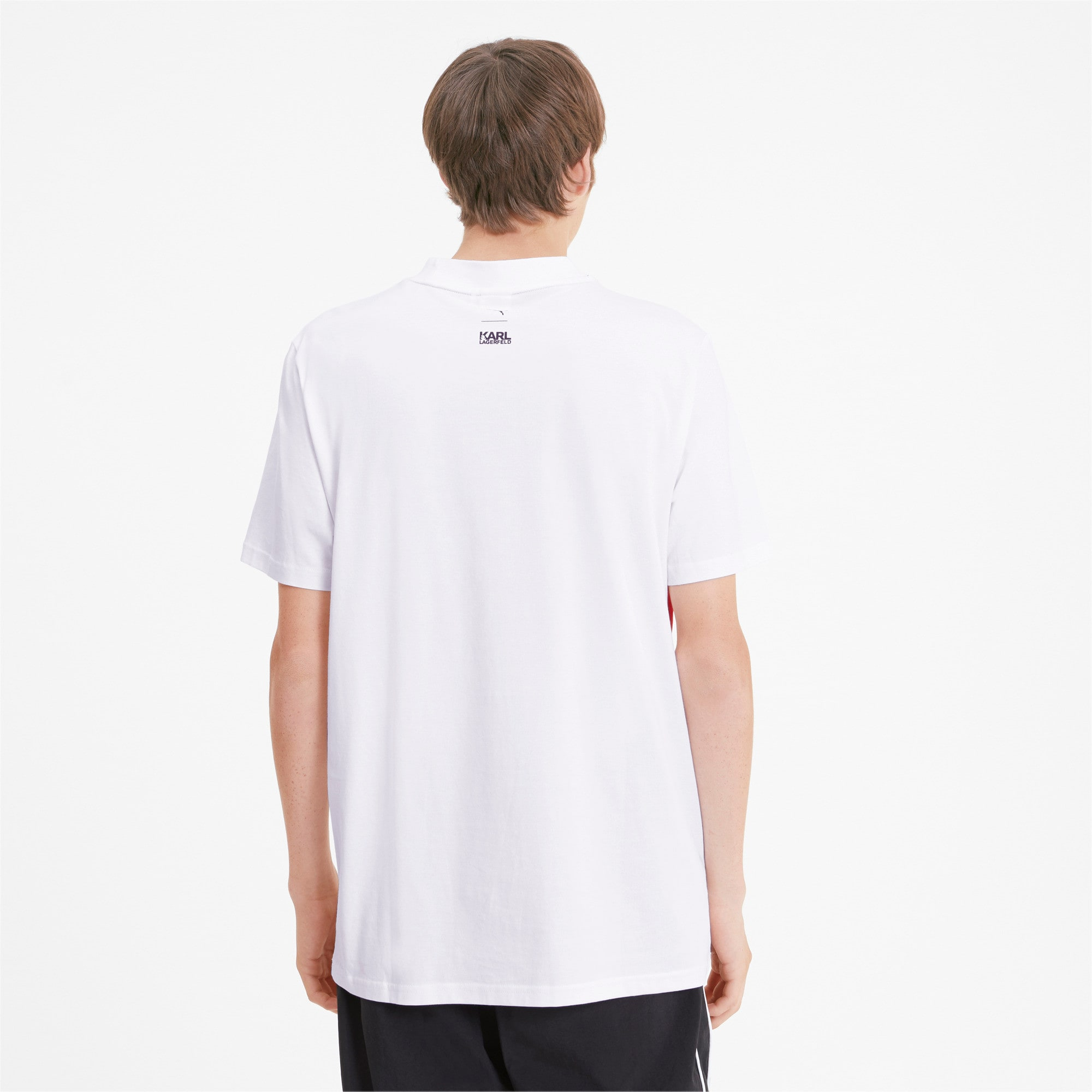 Thumbnail 2 of PUMA x KARL LAGERFELD Herren T-Shirt, Puma White, medium