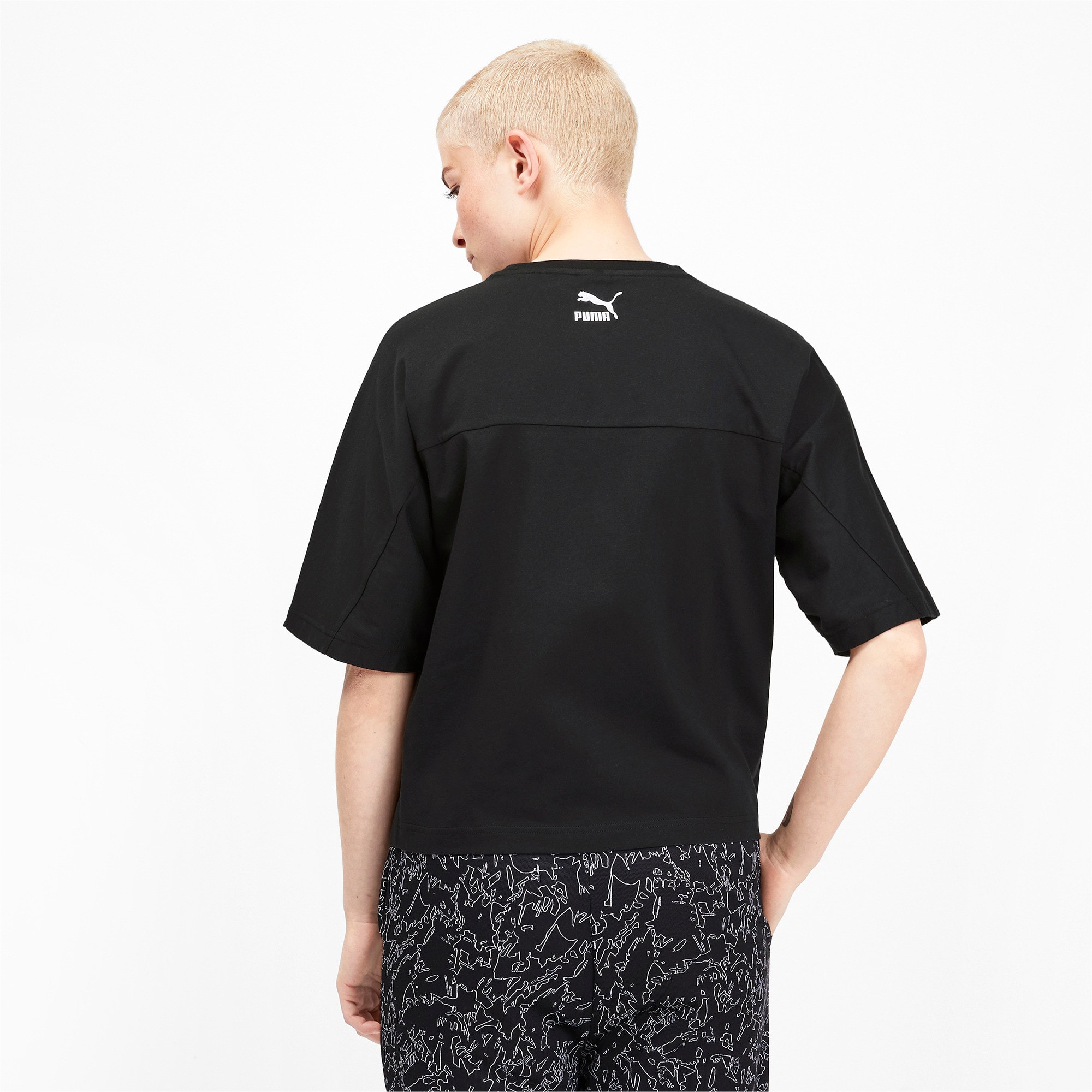 Thumbnail 3 of luXTG Women's Tee, Puma Black, medium