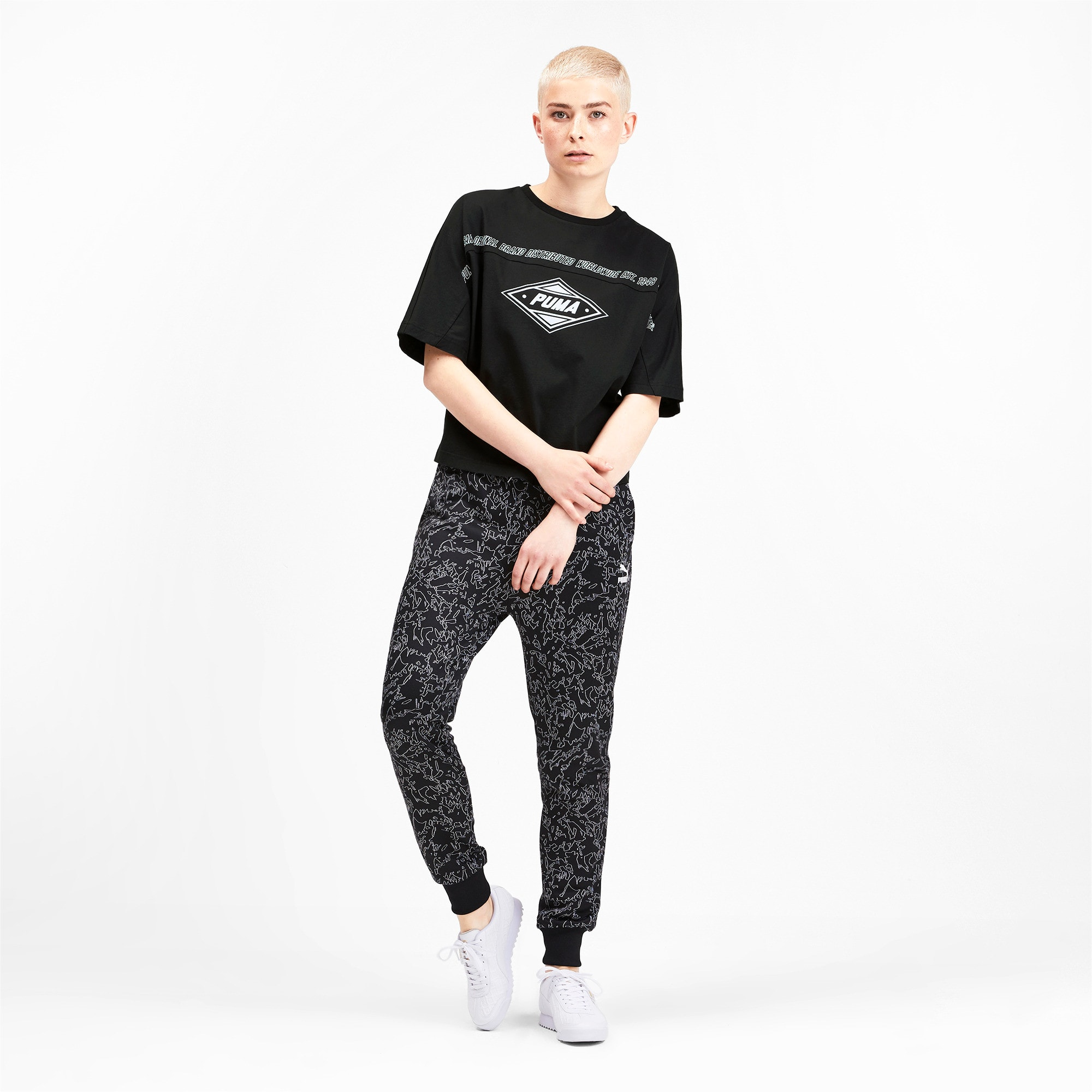 Thumbnail 4 of luXTG Women's Tee, Puma Black, medium