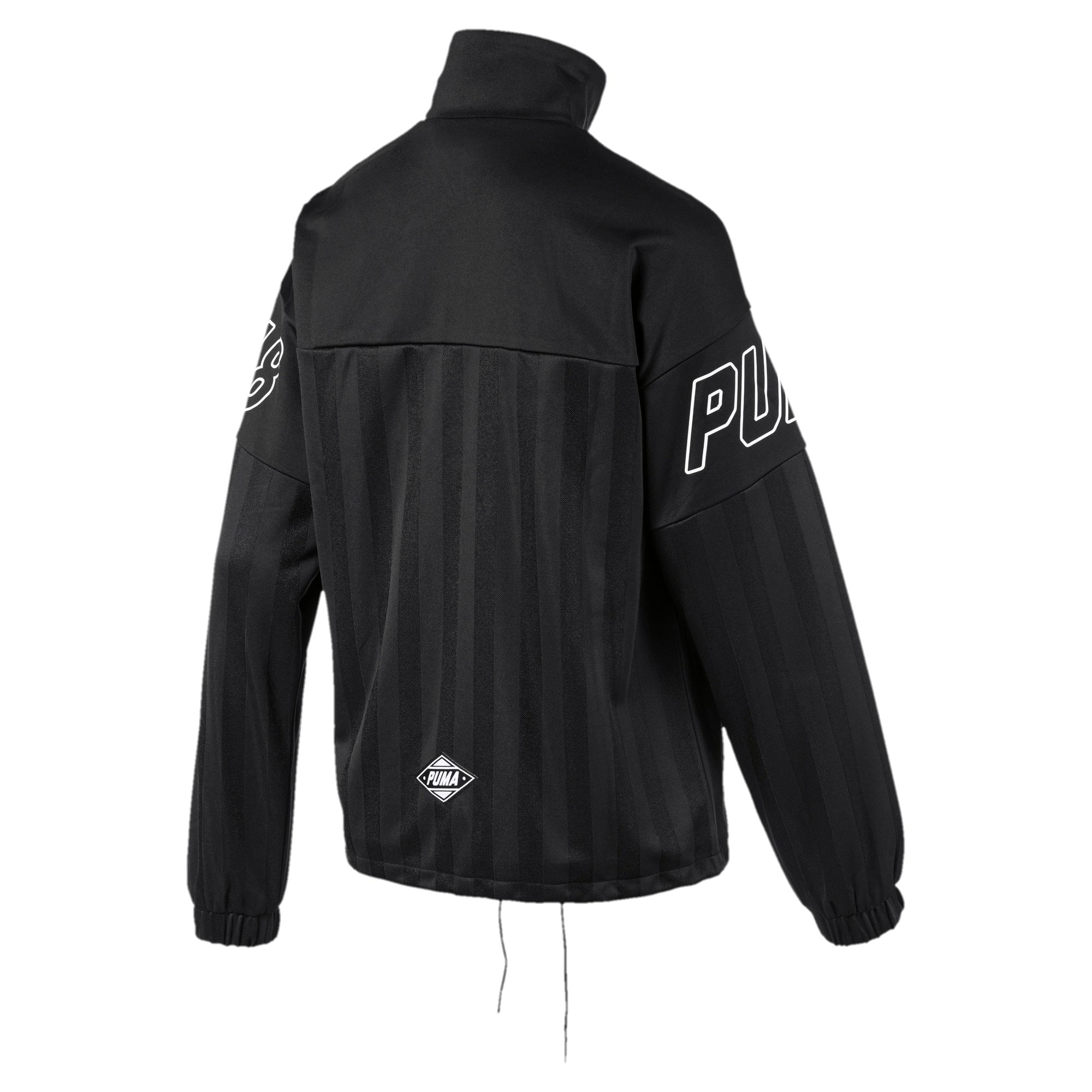 Thumbnail 5 of luXTG Jacquard Women's Track Jacket, Puma Black, medium