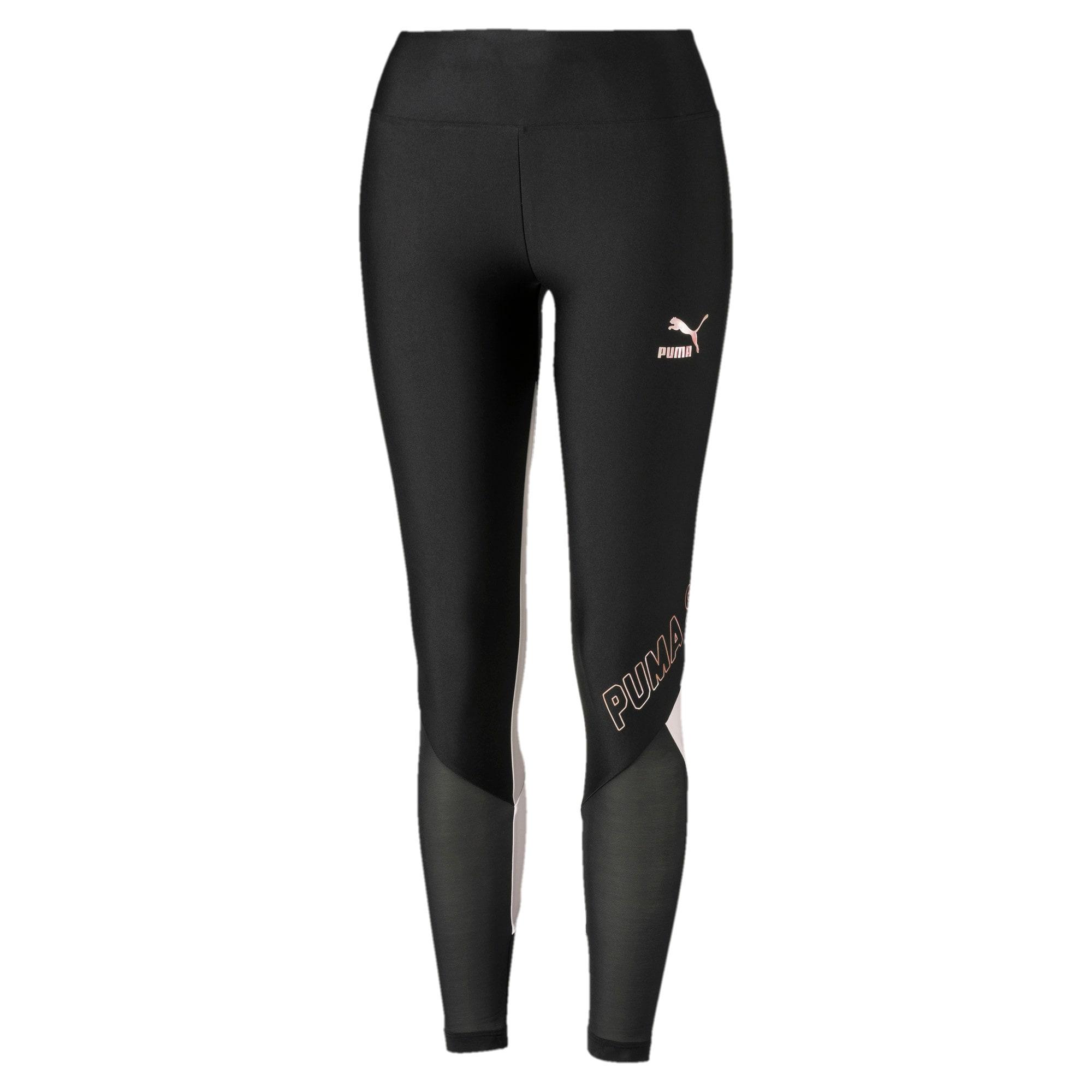 Thumbnail 4 van luXTG legging voor vrouwen, Puma Black-Pastel Parchment, medium