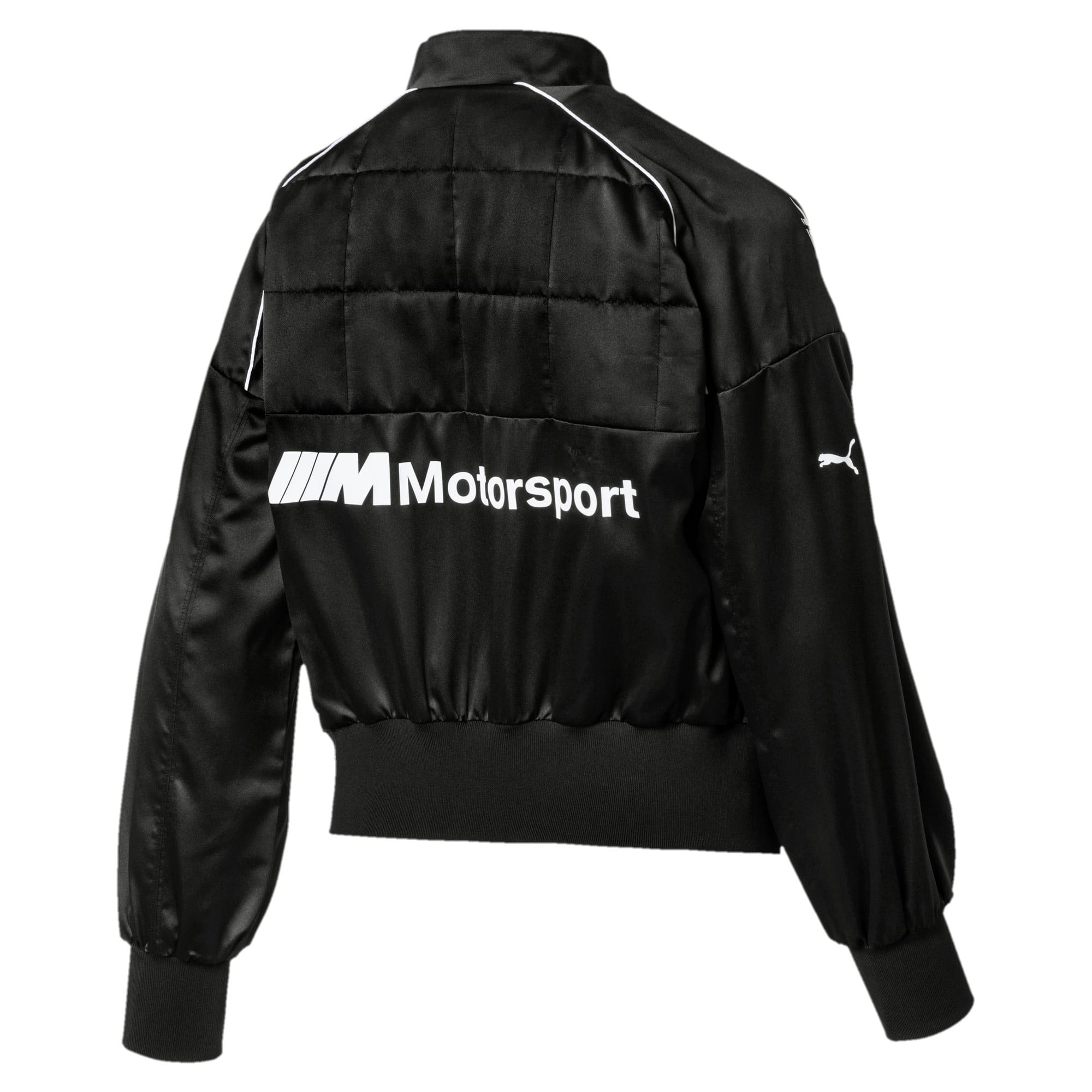Thumbnail 5 of BMW M Motorsport Women's Street Jacket, Puma Black, medium