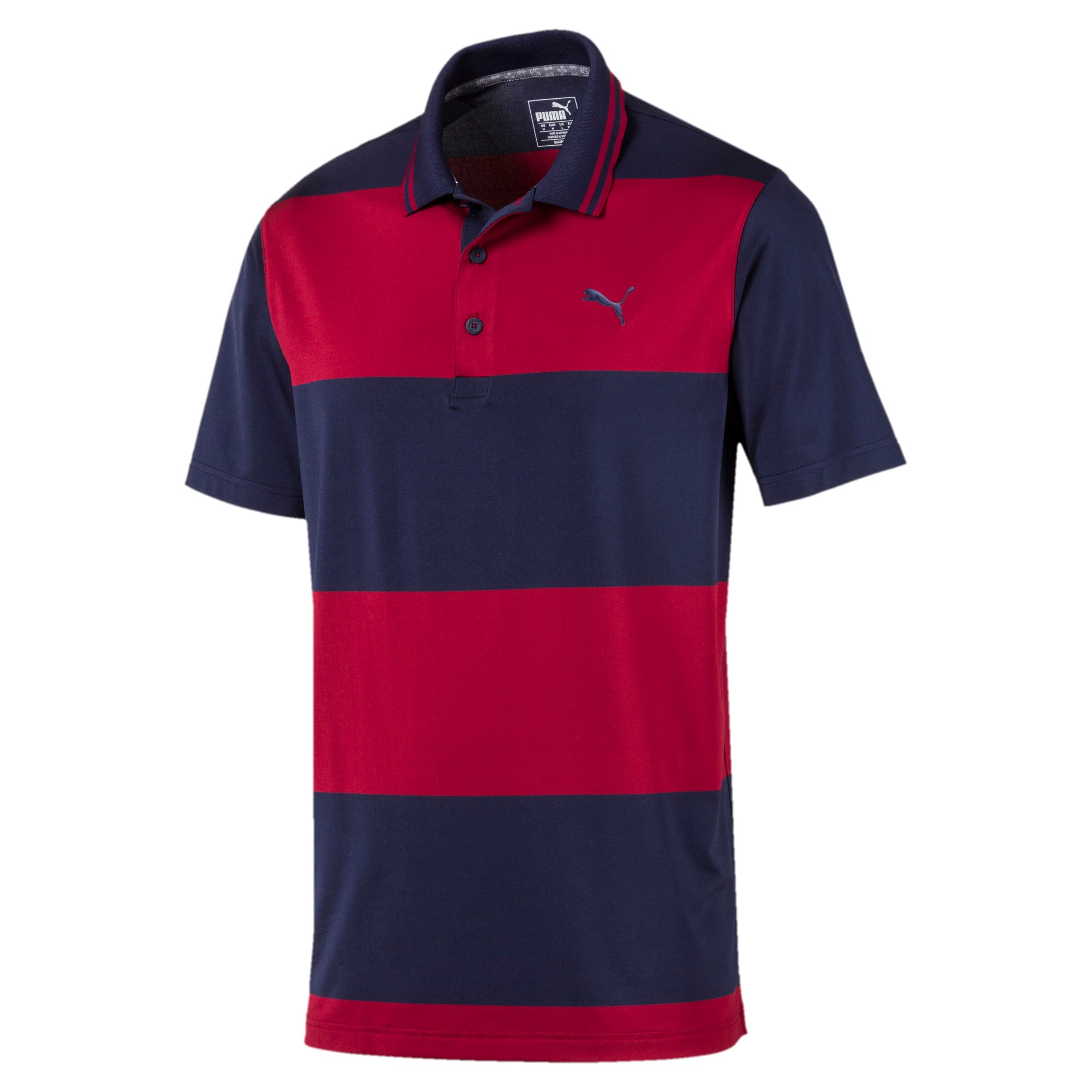 Thumbnail 4 of Polo Rugby Golf pour homme, Peacoat-Rhubarb, medium