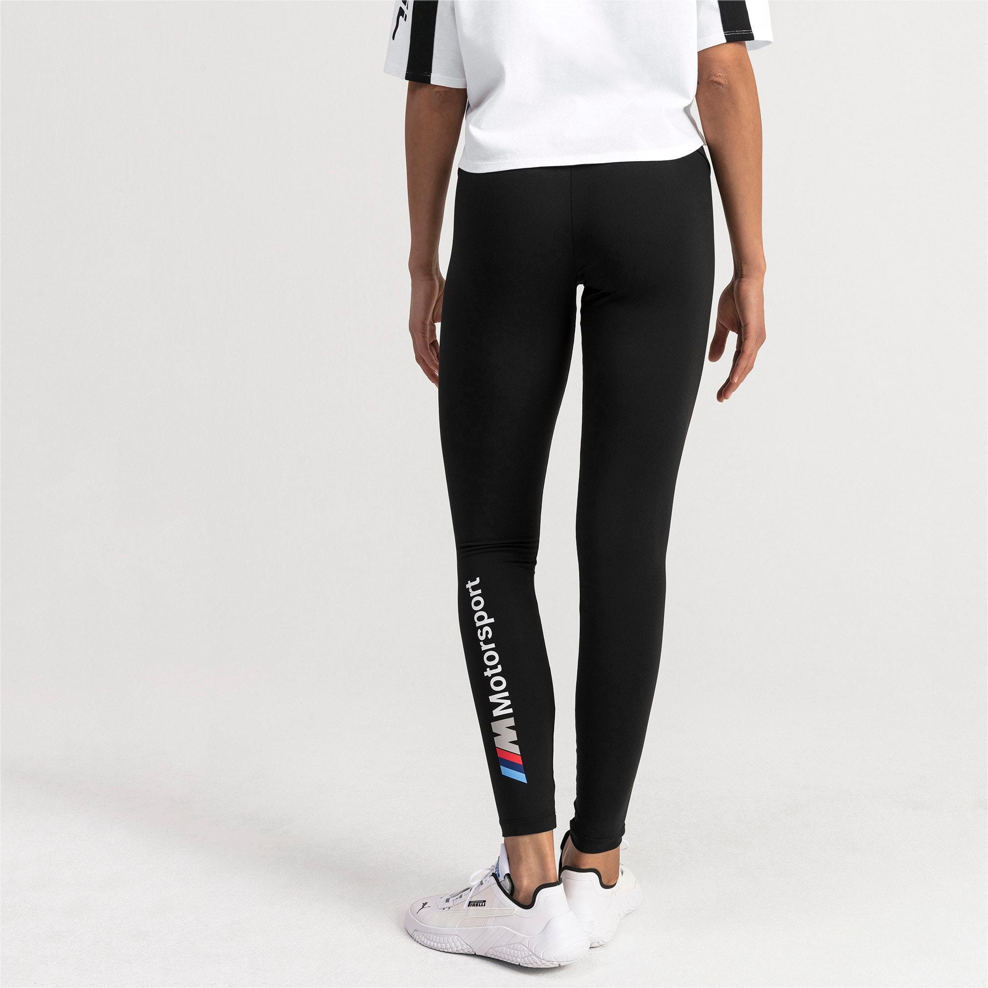 Thumbnail 2 of BMW M Motorsports Women's Leggings, Puma Black, medium