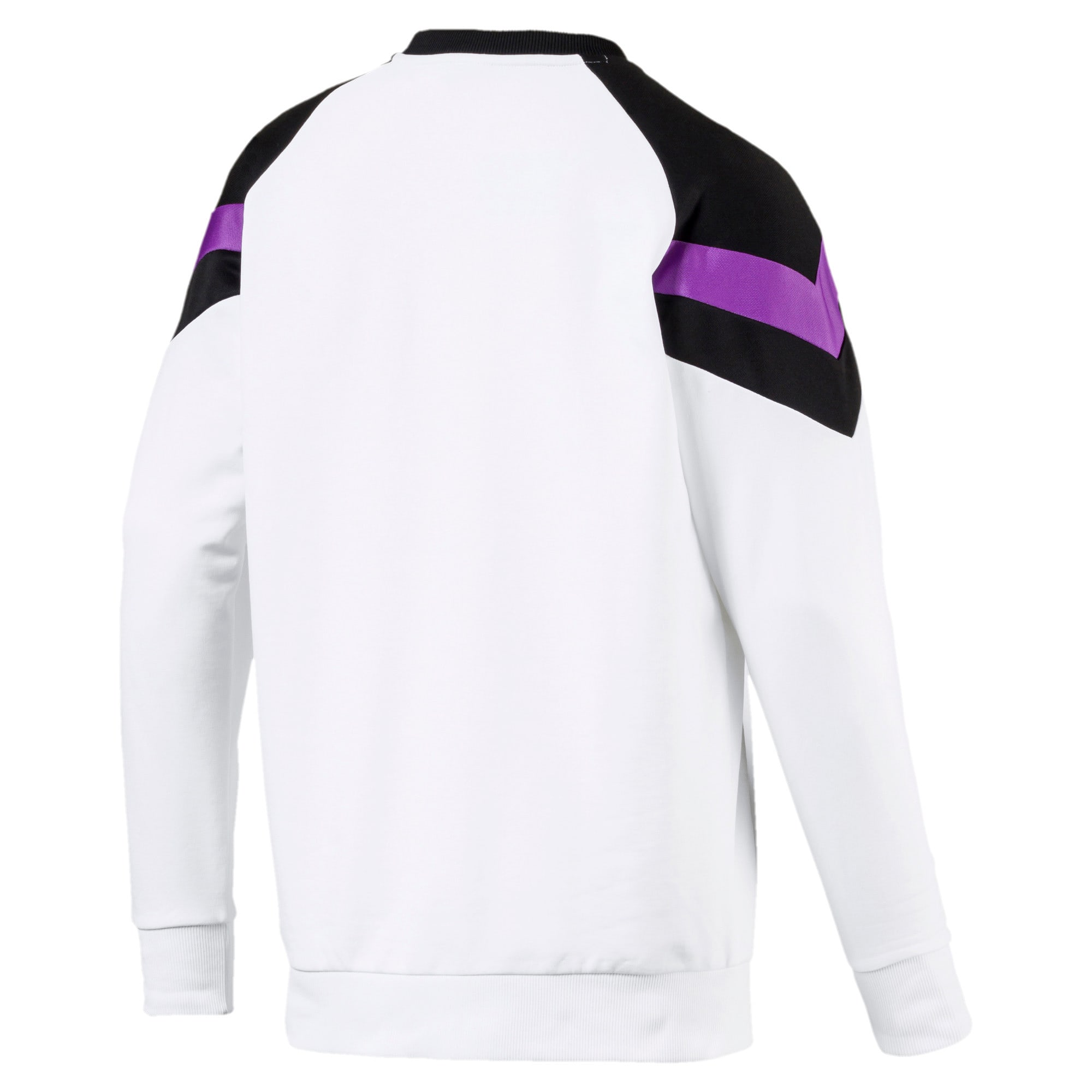 Thumbnail 5 of Iconic MCS Crew Men's Sweater, Puma White, medium