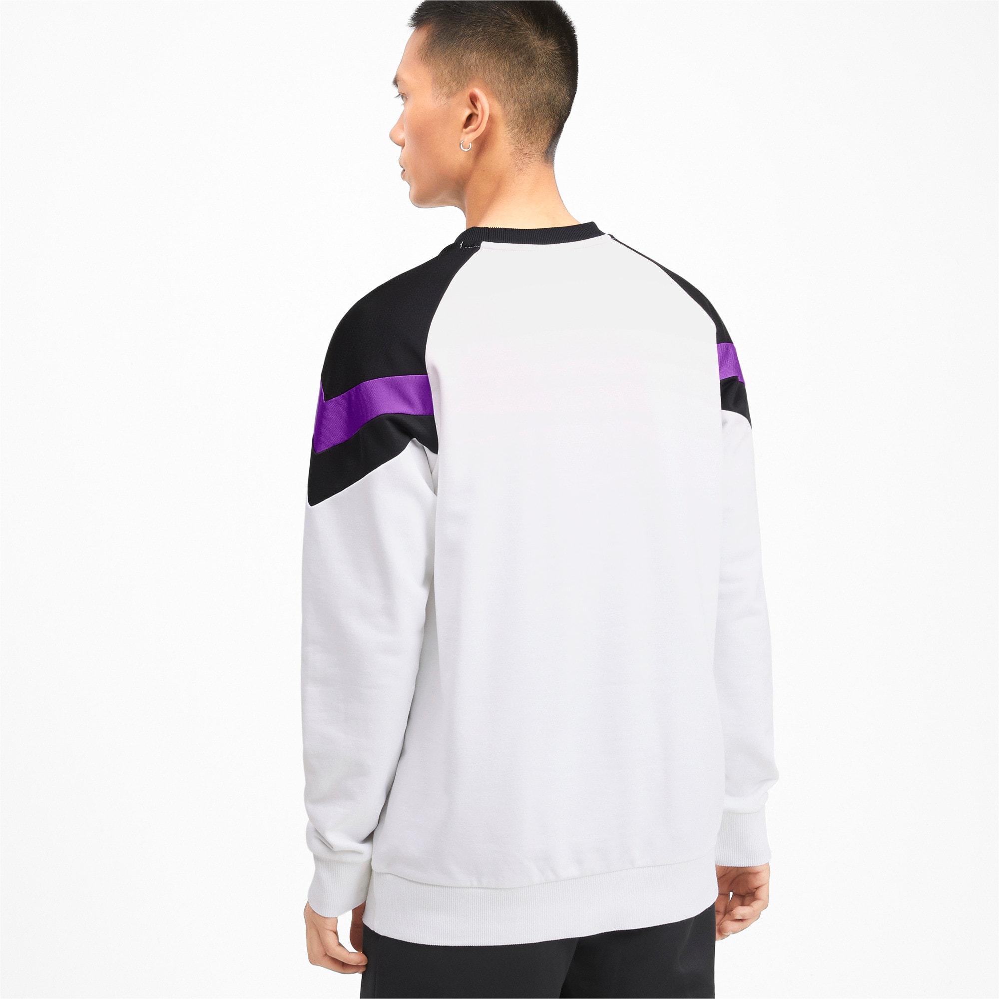 Thumbnail 2 of Iconic MCS Crew Men's Sweater, Puma White, medium