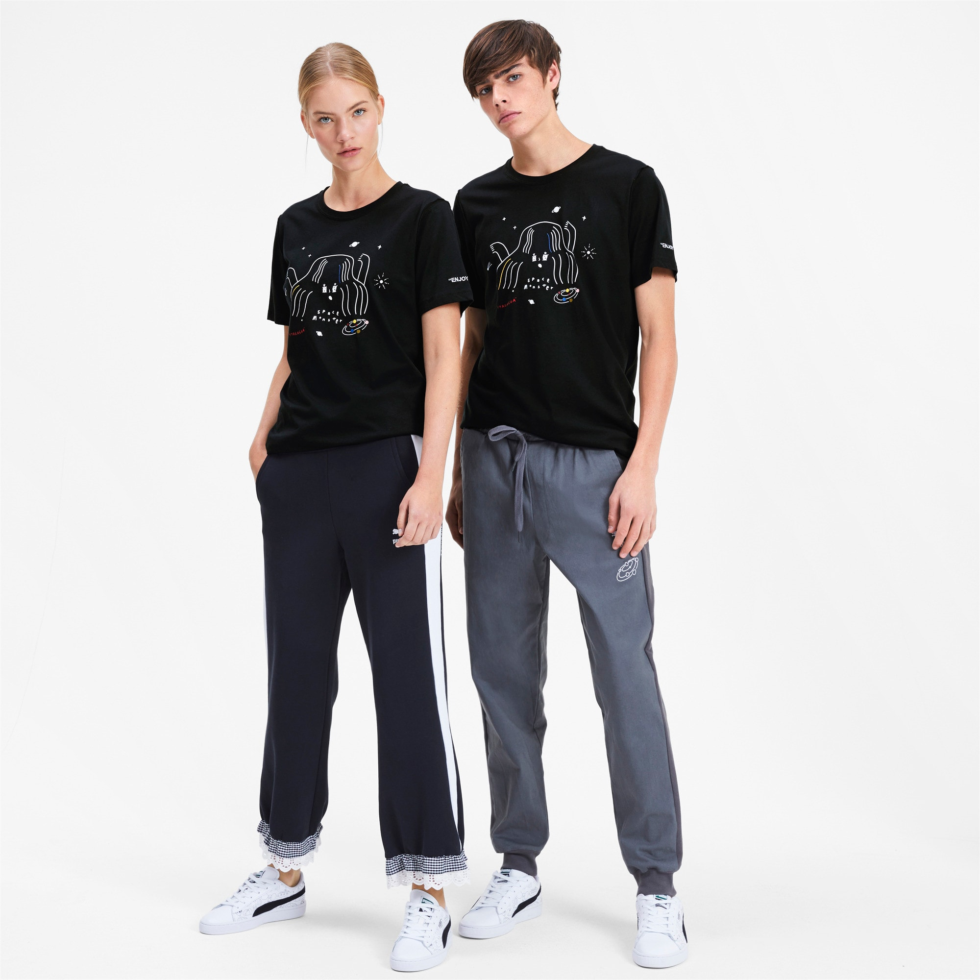 Miniatura 4 de Camiseta PUMA x TYAKASHA , Cotton Black, mediano