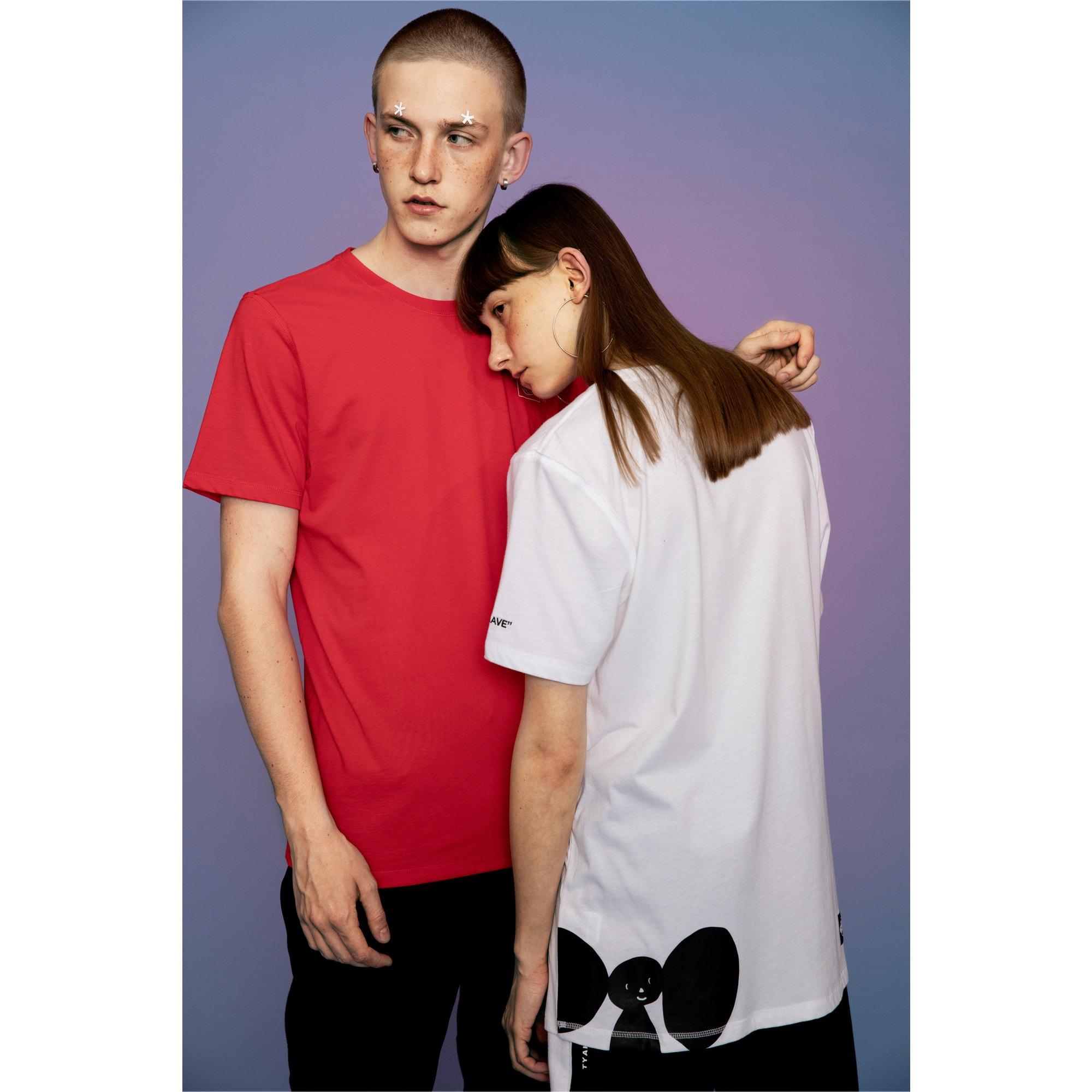 Thumbnail 6 of PUMA x TYAKASHA T-shirt, Puma White, medium