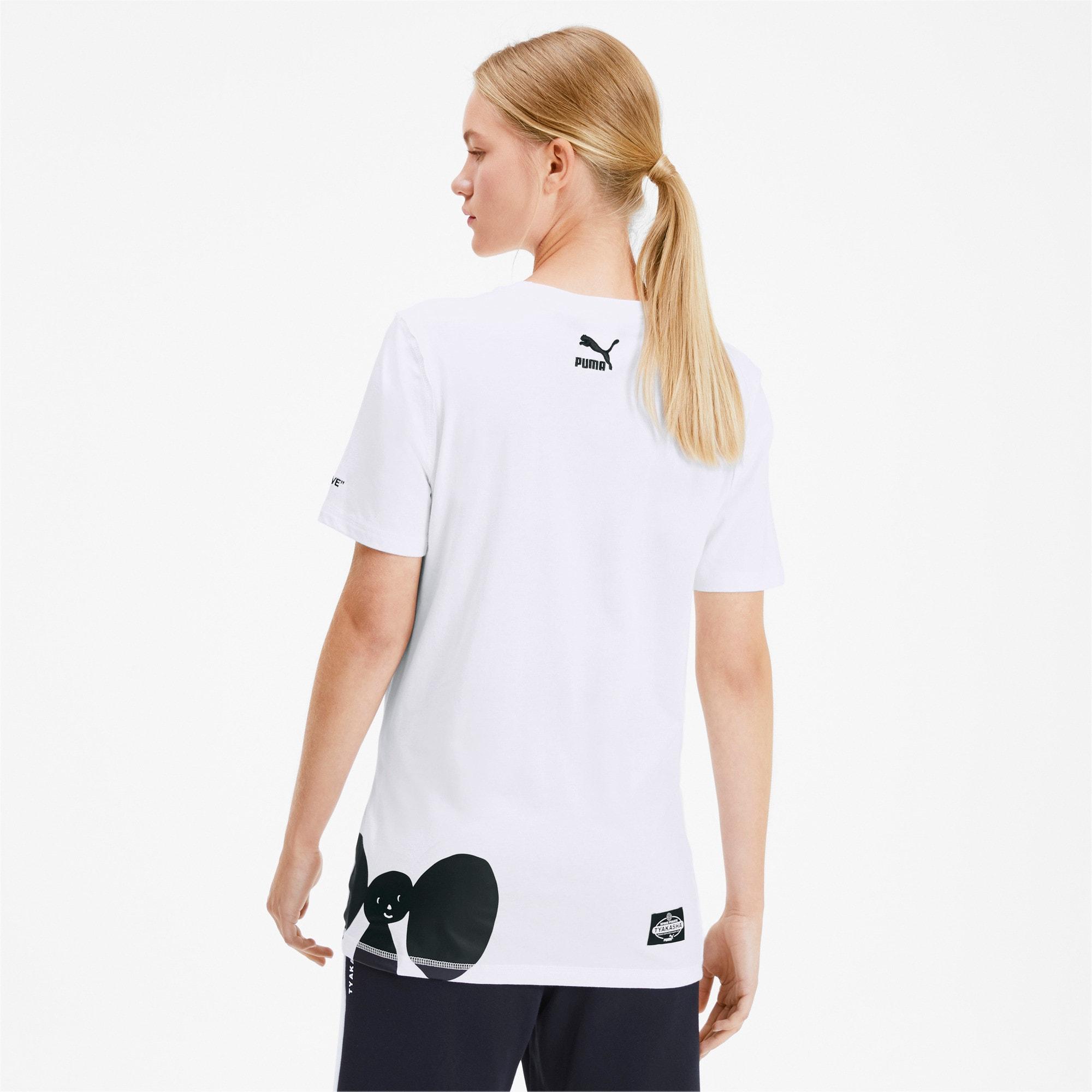 Thumbnail 3 of PUMA x TYAKASHA T-shirt, Puma White, medium