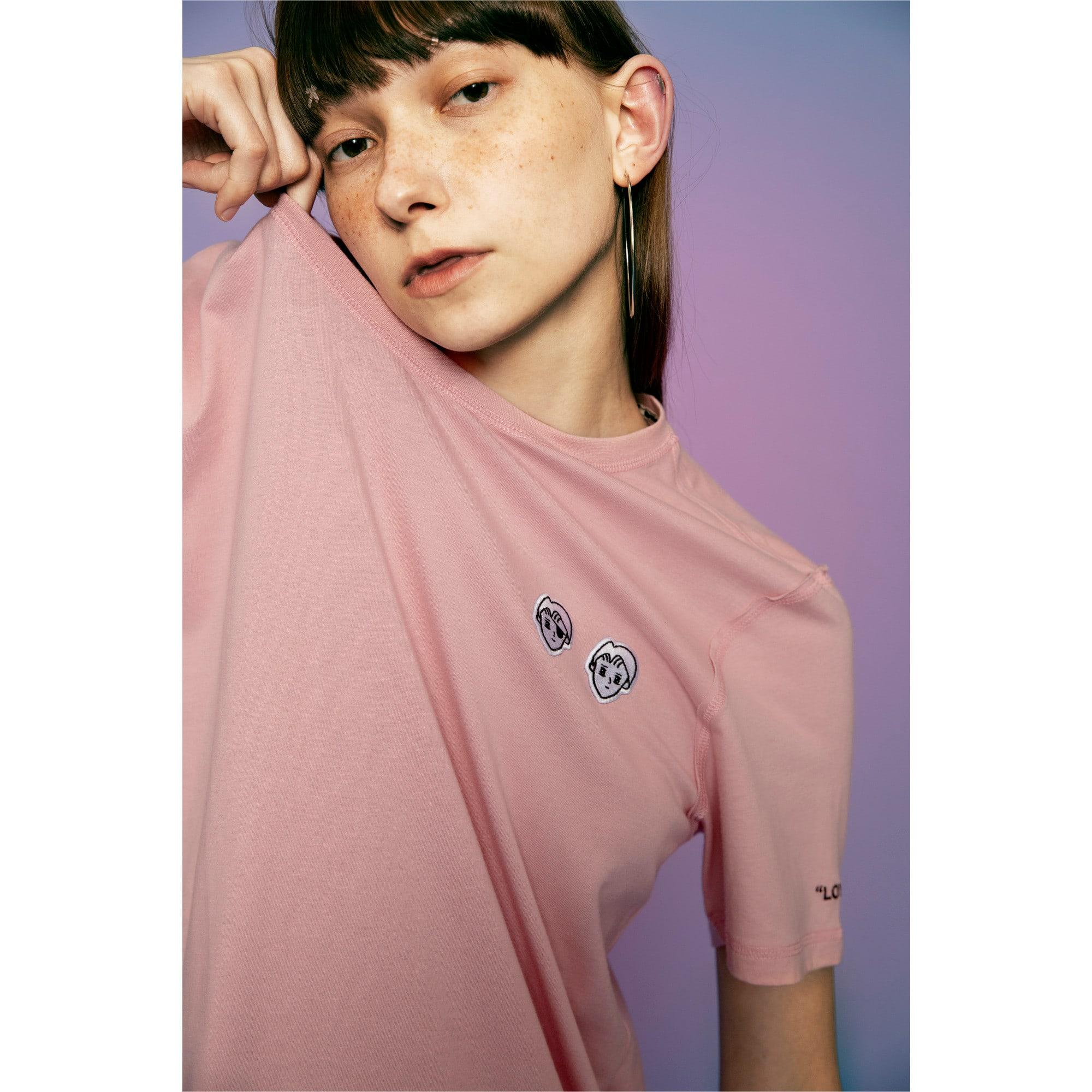 Thumbnail 6 of PUMA x TYAKASHA T-shirt, Bridal Rose, medium