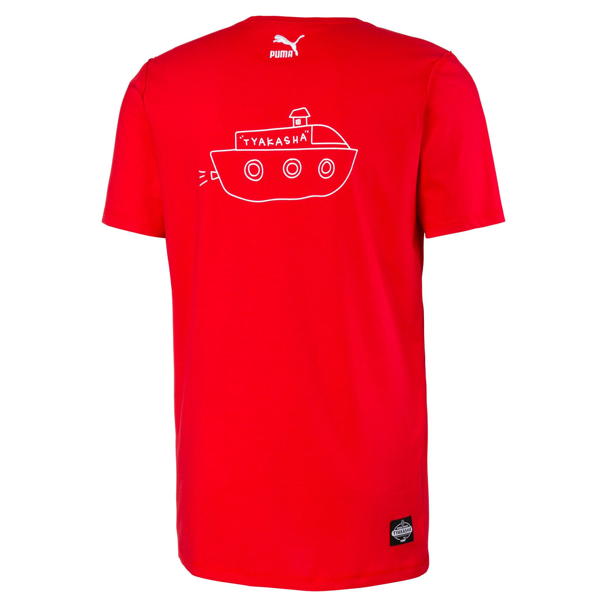 Miniatura 5 de Camiseta PUMA x TYAKASHA , High Risk Red, mediano