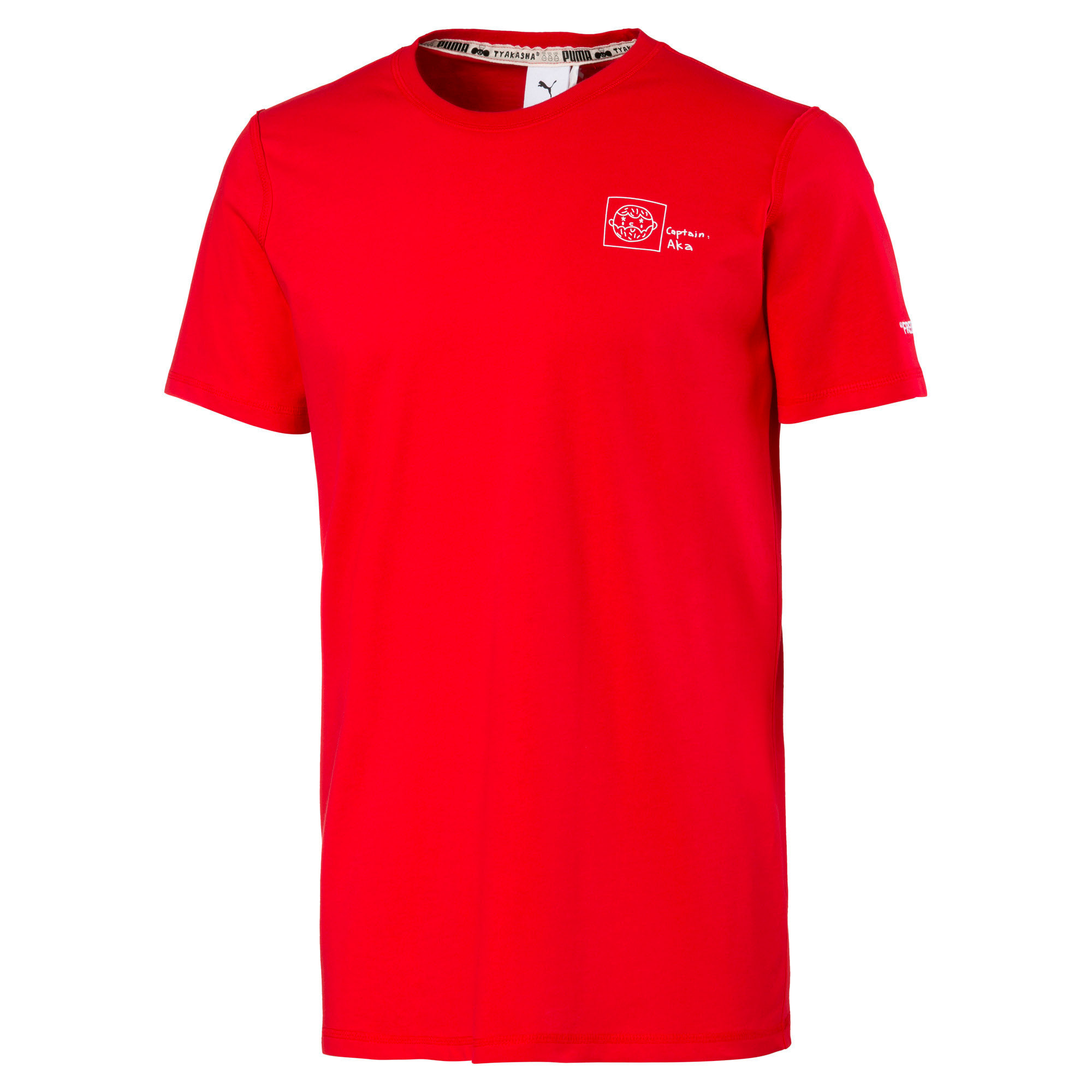 Miniatura 1 de Camiseta PUMA x TYAKASHA , High Risk Red, mediano
