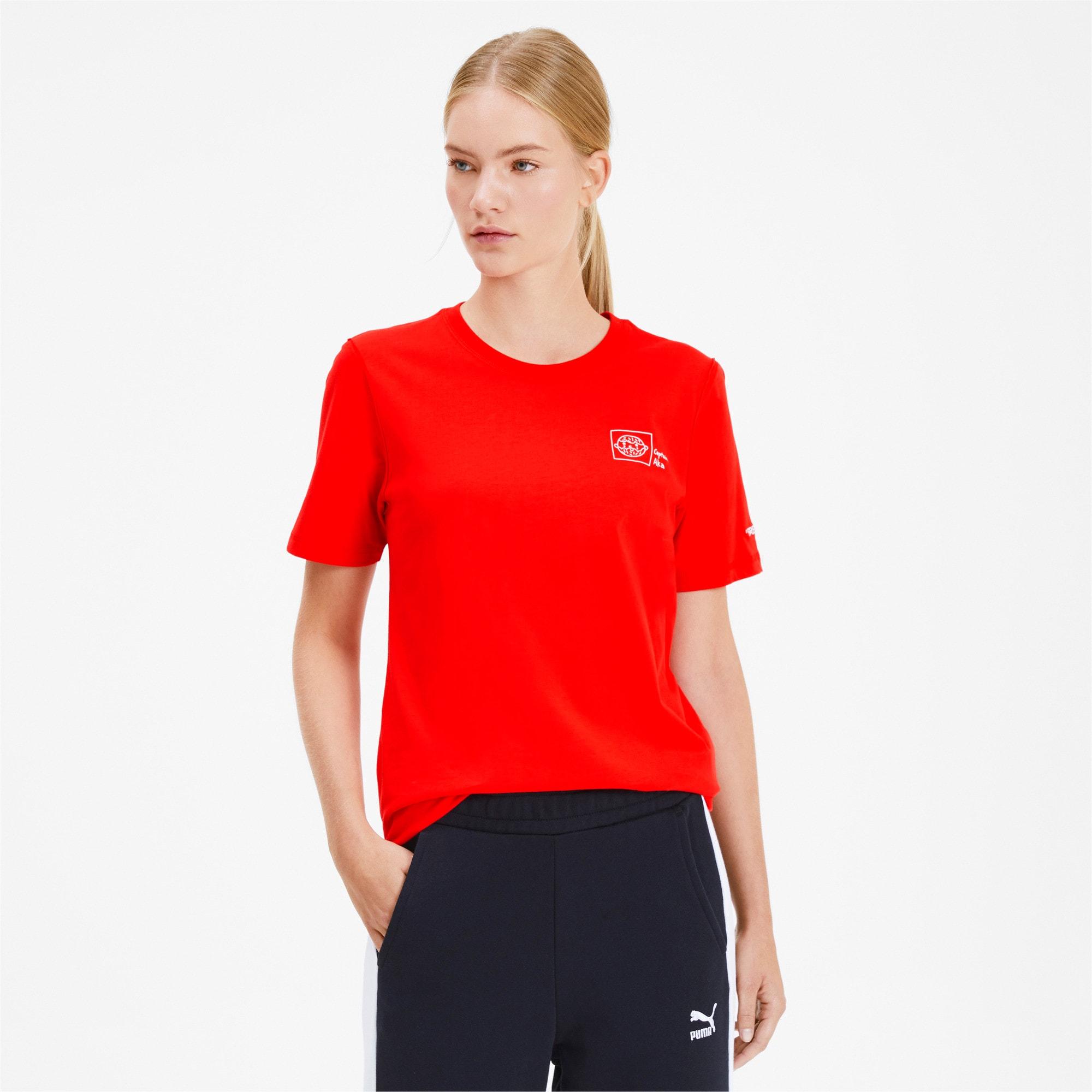 Thumbnail 2 of PUMA x TYAKASHA T-Shirt, High Risk Red, medium