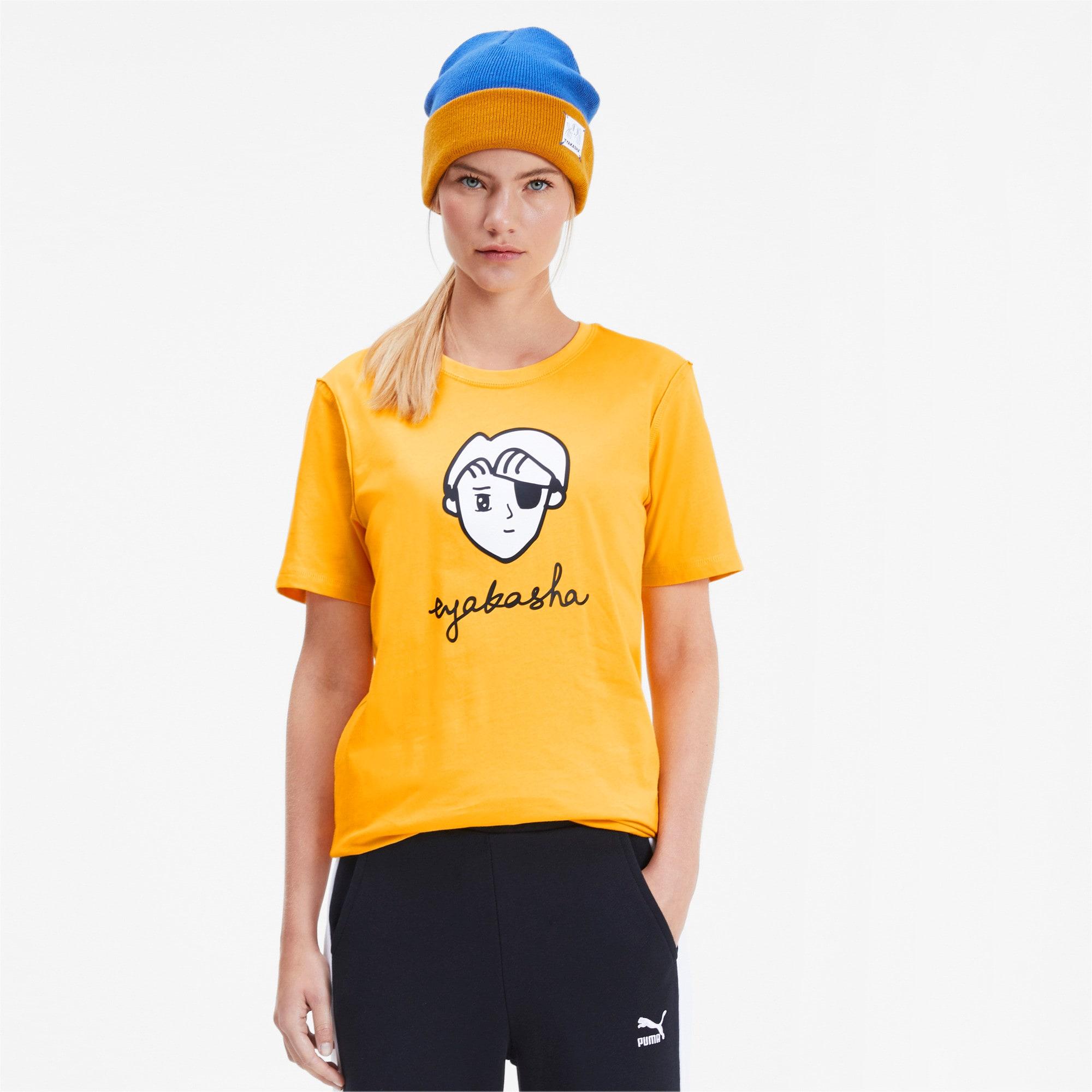 Thumbnail 2 of PUMA x TYAKASHA T-Shirt, Daffodil, medium