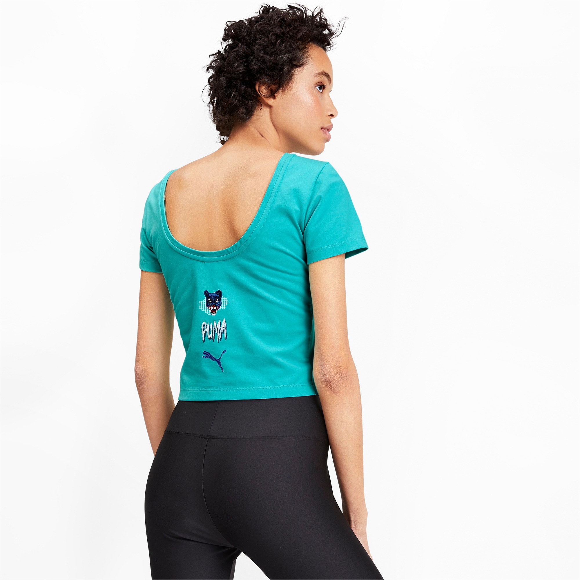 Thumbnail 3 of Claw Women's Top, Blue Turquoise, medium