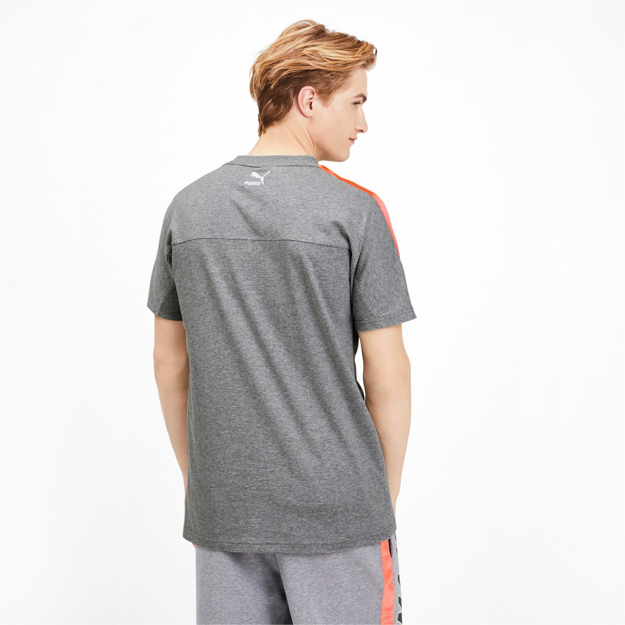 Miniatura 2 de Camiseta luXTG para hombre, Medium Gray Heather, mediano