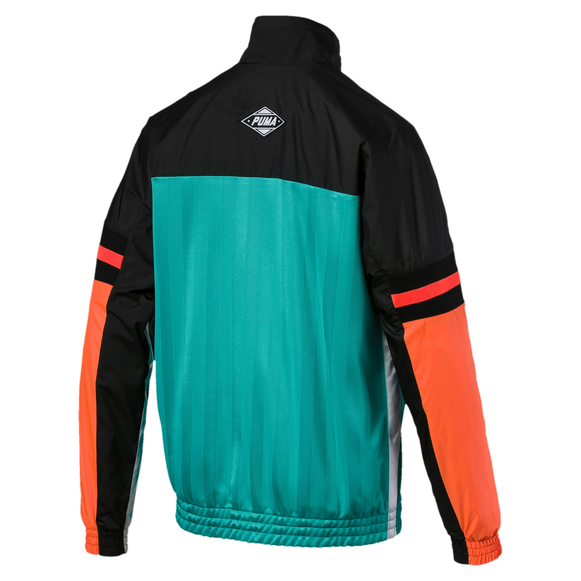 Thumbnail 5 of luXTG Woven Men's Track Jacket, Blue Turquoise, medium