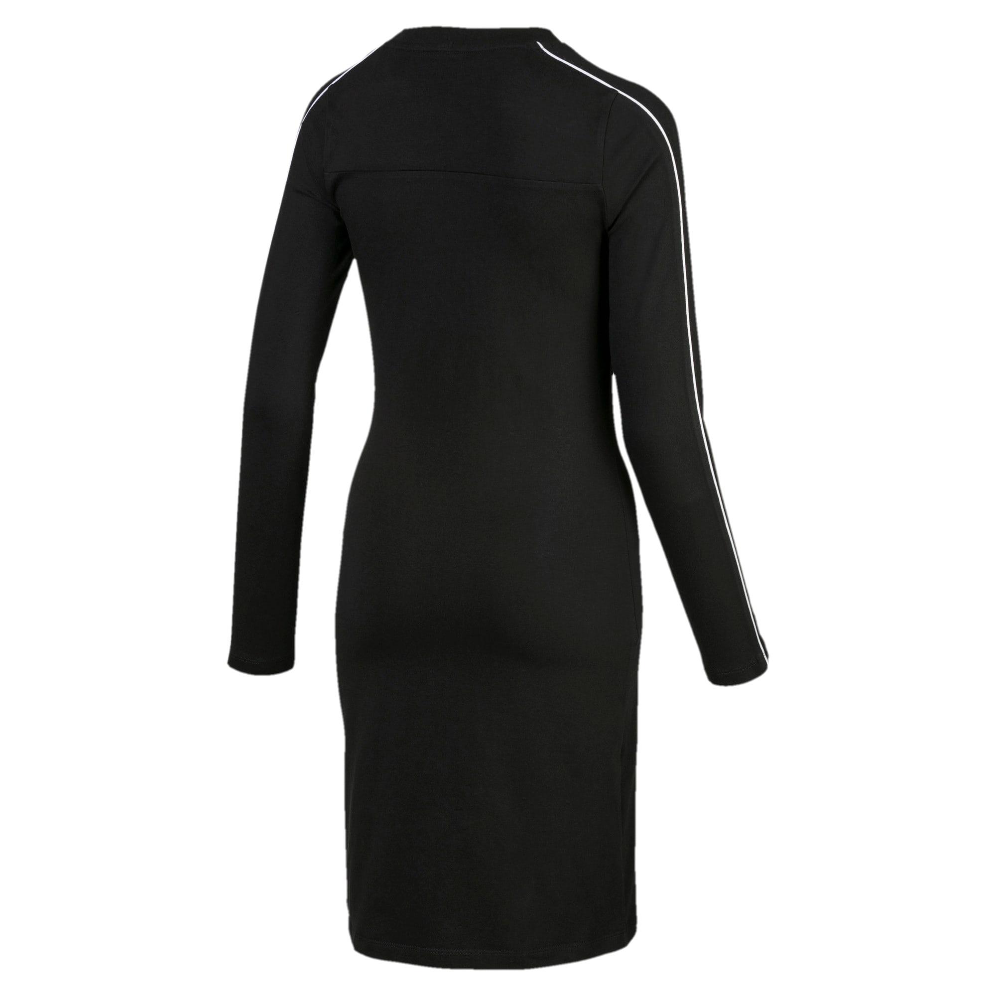 Thumbnail 5 of CLASSICS ウィメンズ ドレス, Cotton Black, medium-JPN