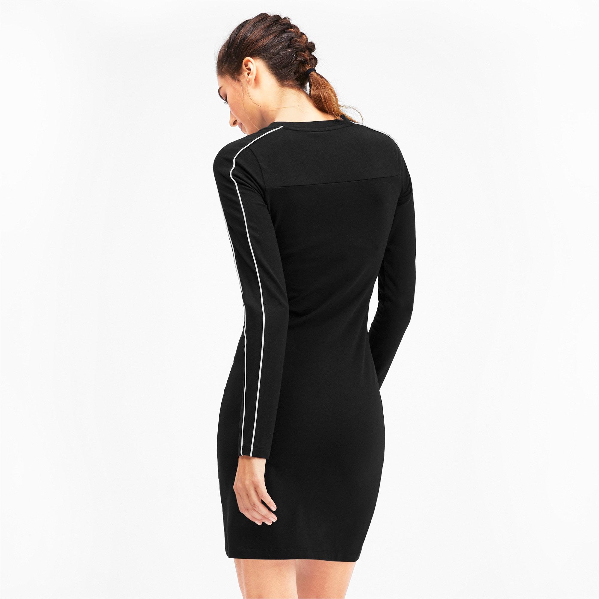 Thumbnail 3 of CLASSICS ウィメンズ ドレス, Cotton Black, medium-JPN