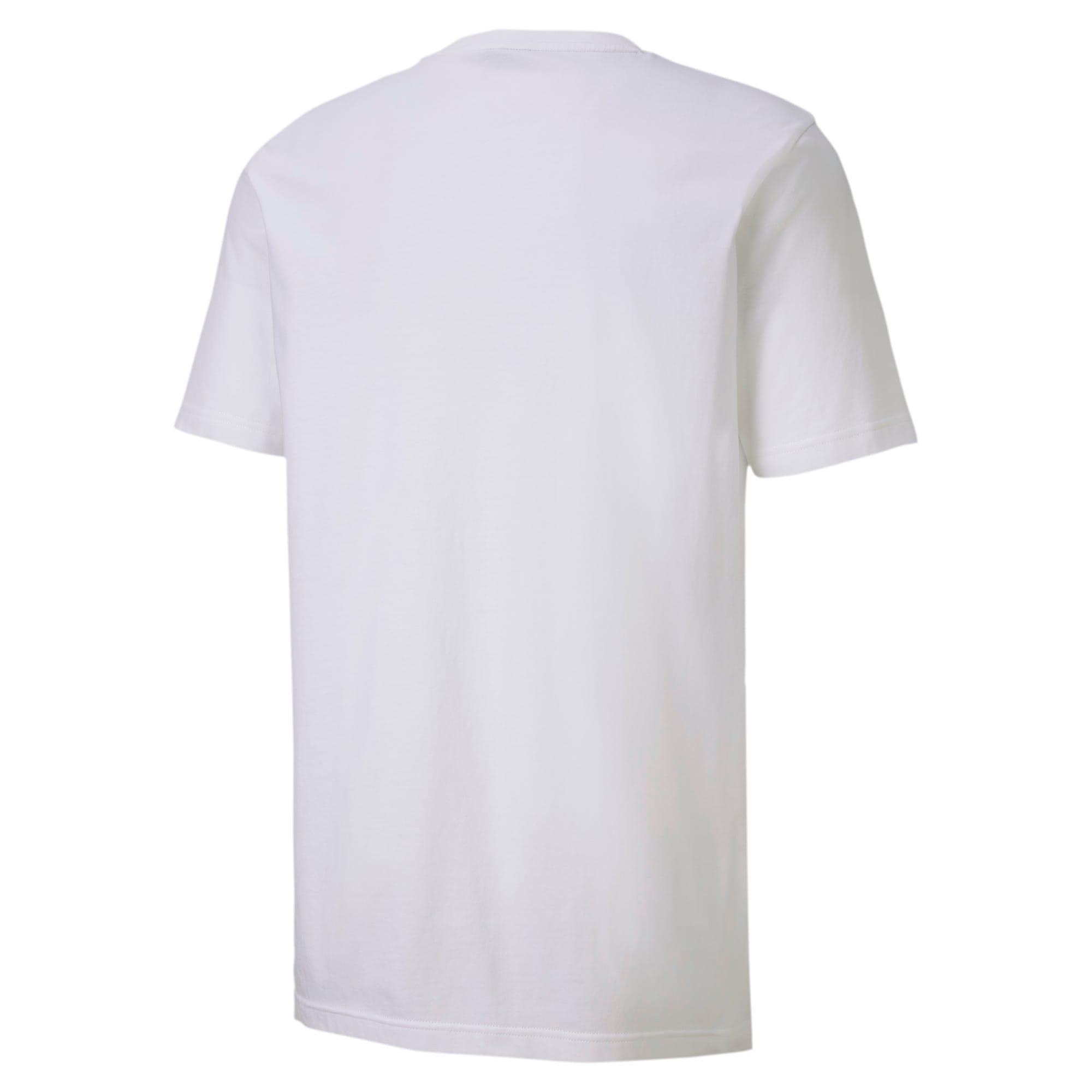 Thumbnail 6 of CLASSICS ロゴ SS Tシャツ 半袖, Puma White, medium-JPN