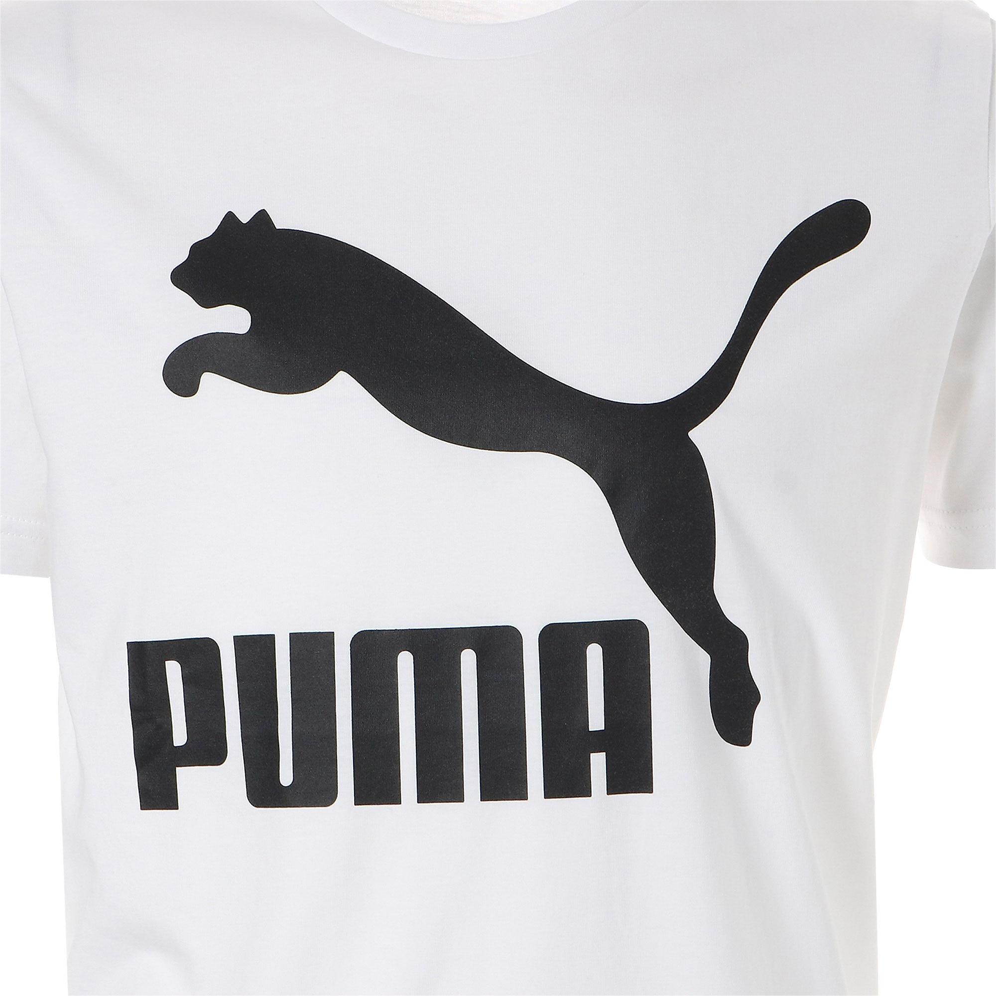 Thumbnail 7 of CLASSICS ロゴ SS Tシャツ 半袖, Puma White, medium-JPN