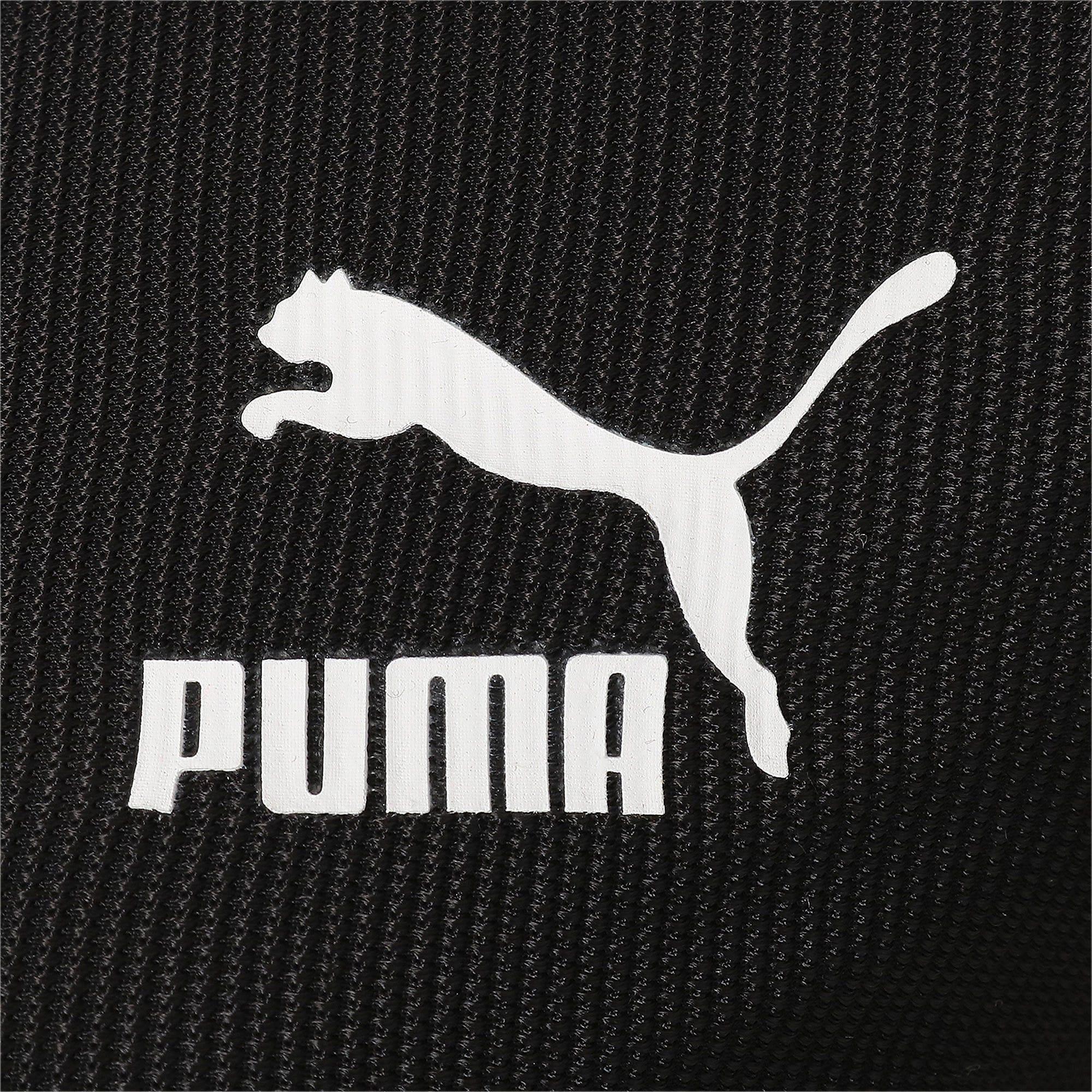Thumbnail 7 of CLASSICS ウィメンズ リブ LS Tシャツ 長袖, Puma Black, medium-JPN