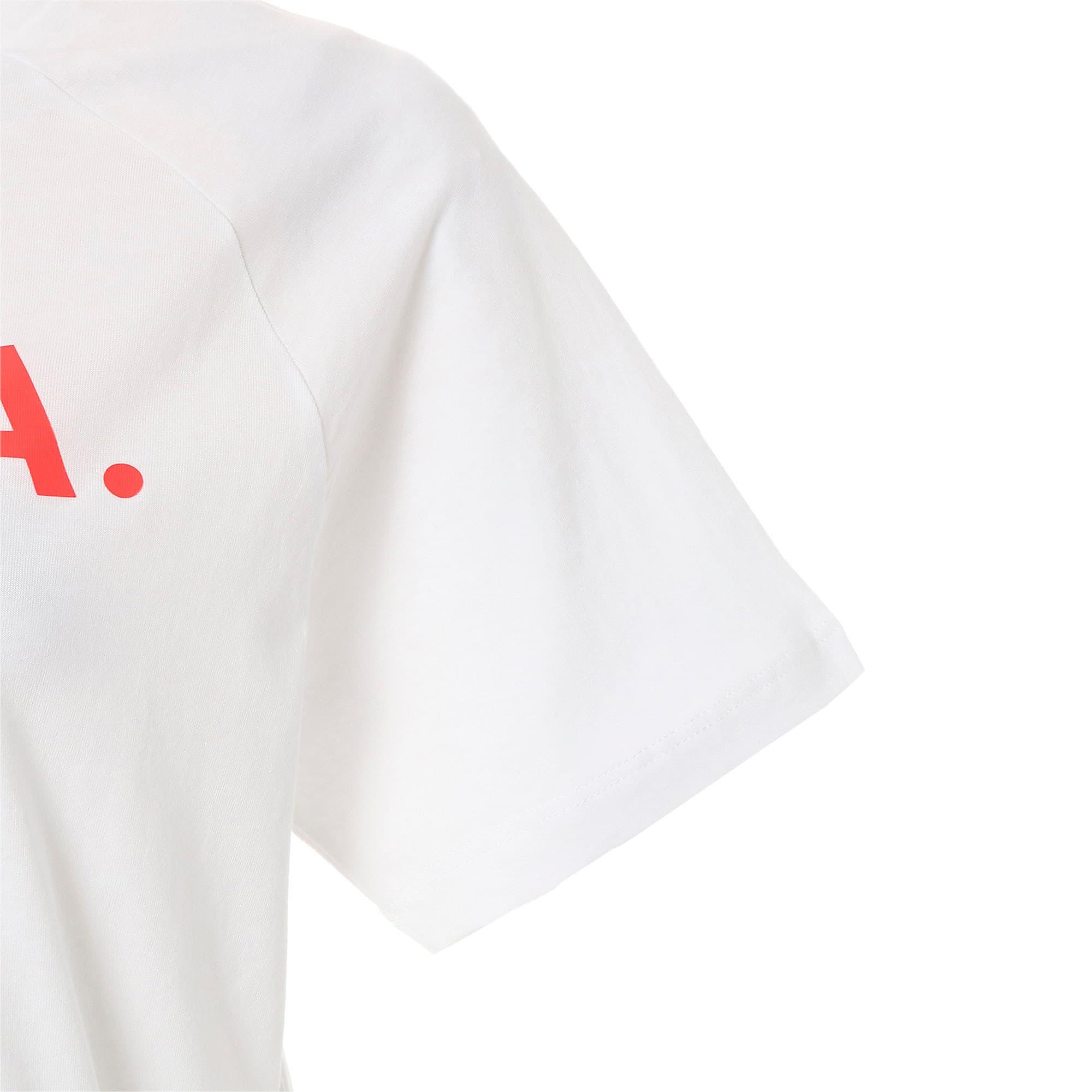 Thumbnail 8 of CHASE V SS ウィメンズ Tシャツ 半袖, Puma White, medium-JPN